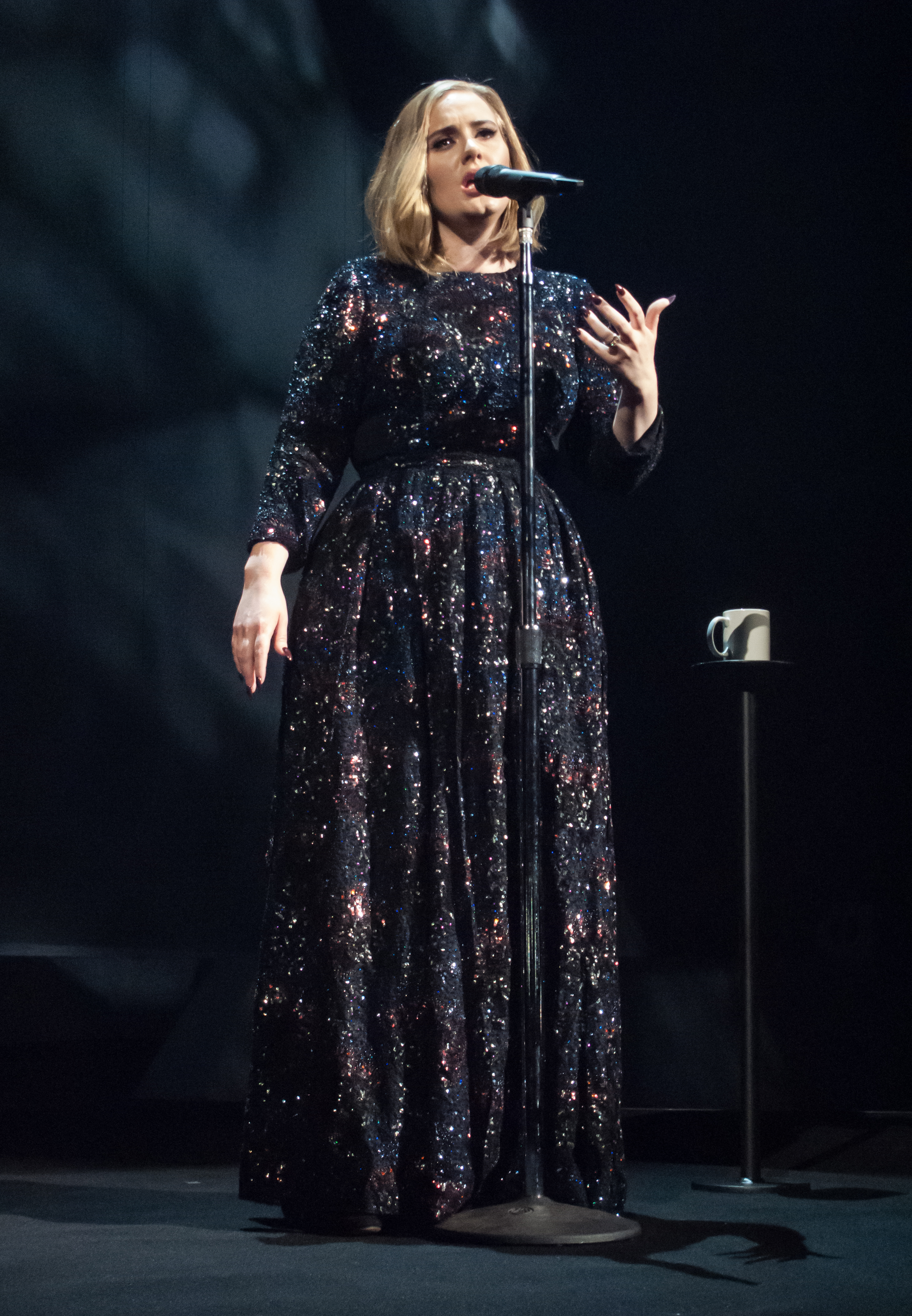 Adele thinks Mariah Carey should be in the Bible