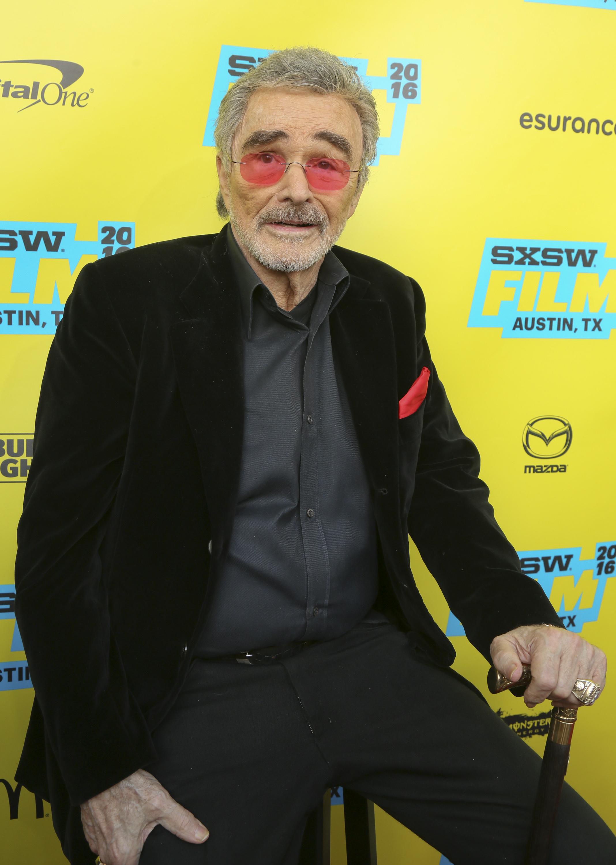 Burt Reynolds would like Angelina Jolie to run for president