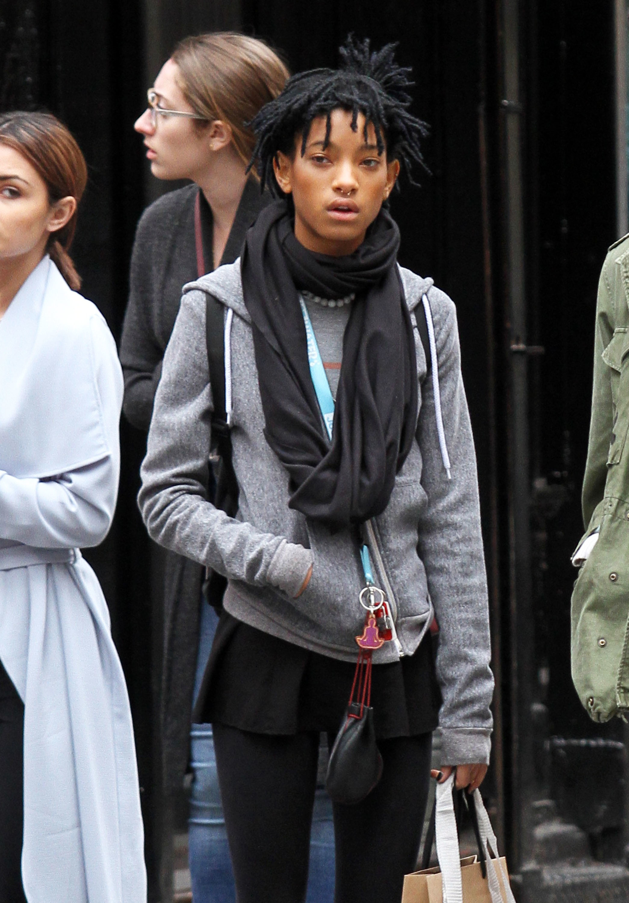 Willow Smith toured MIT after Fashion Week
