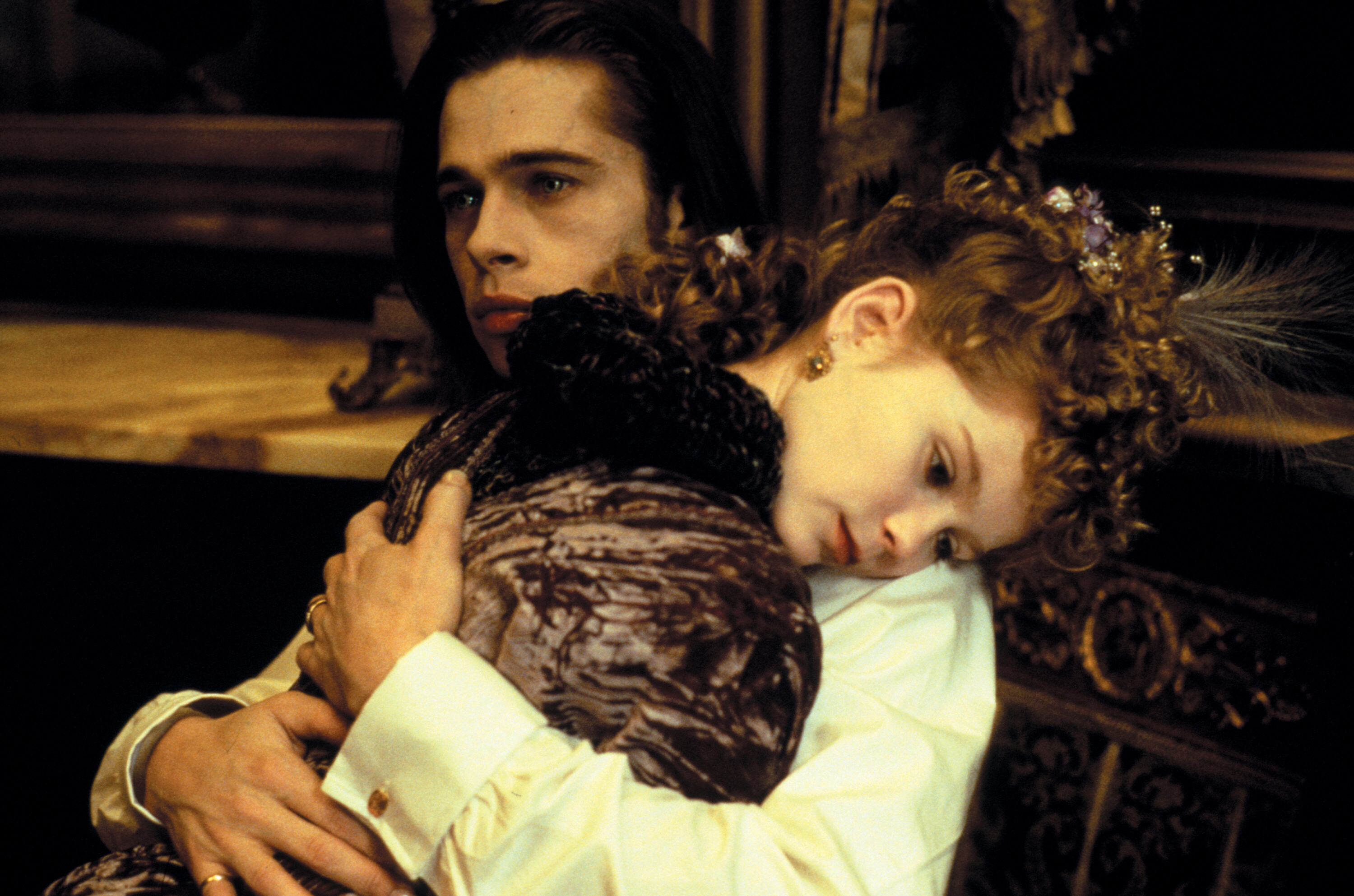 No. 8: She smooched Brad Pitt when she was just a kid