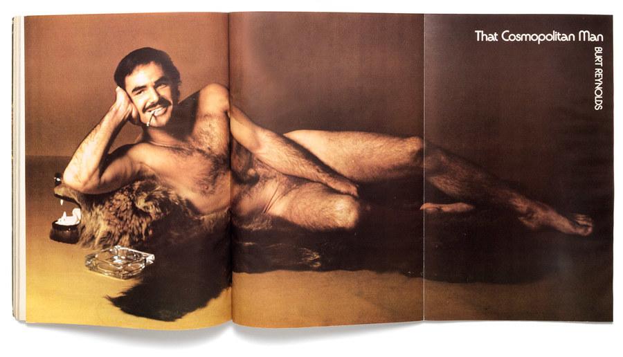 Captivating Burt Reynolds Cosmo