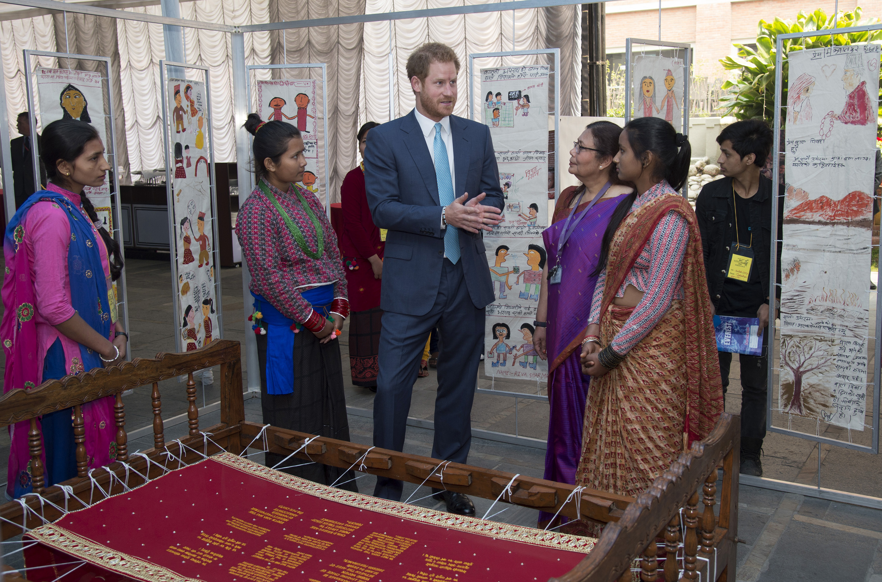 Prince Harry: 'It cannot just be women who speak up for girls'