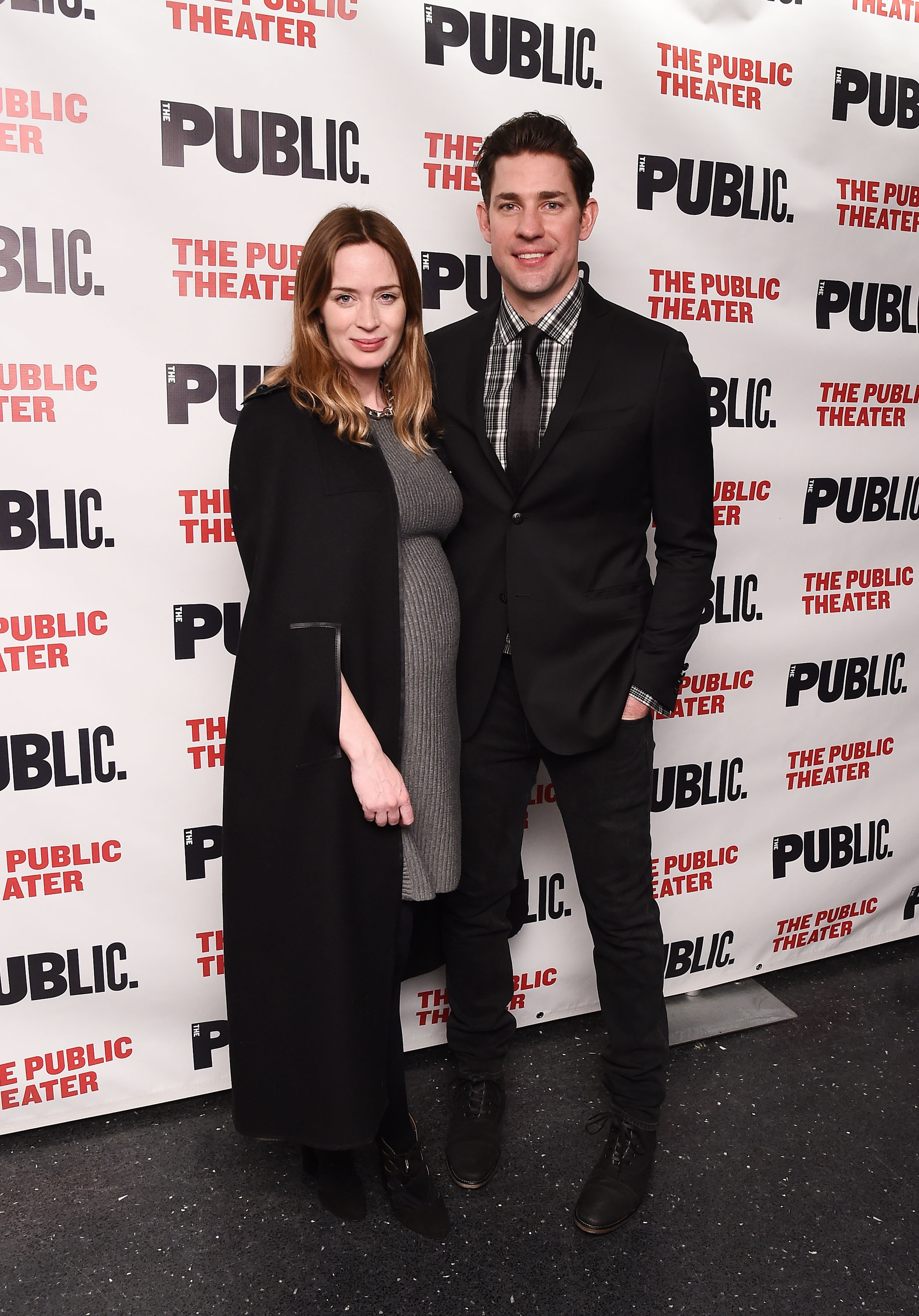 Emily Blunt opens up about pregnancy and possibly working with John