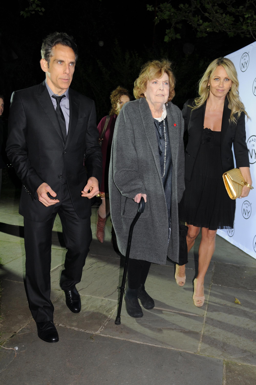 Anne Meara and Ben Stiller