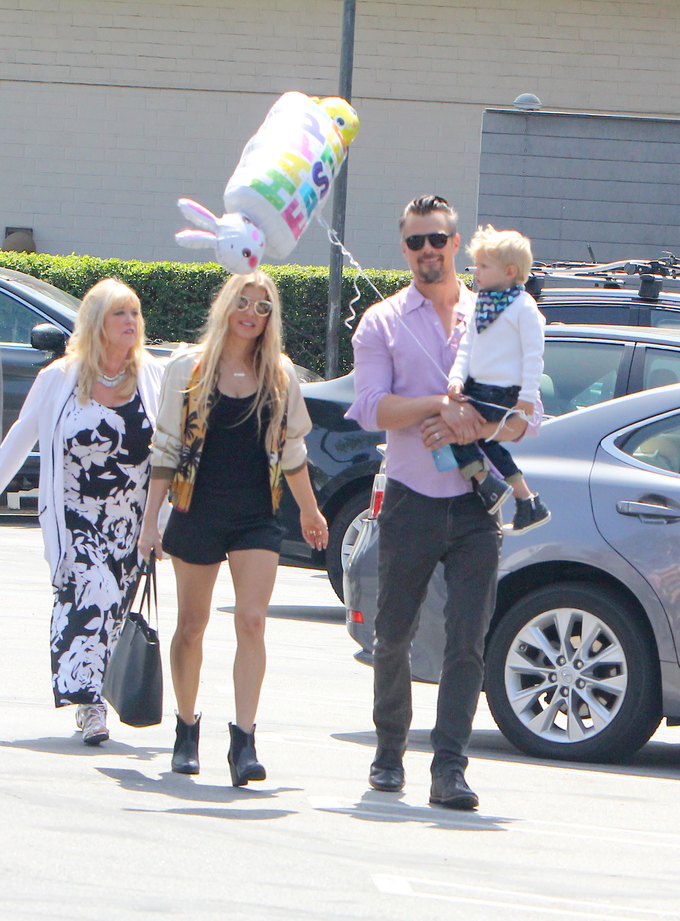 Fergie and Josh Duhamel's son loves Flo Rida