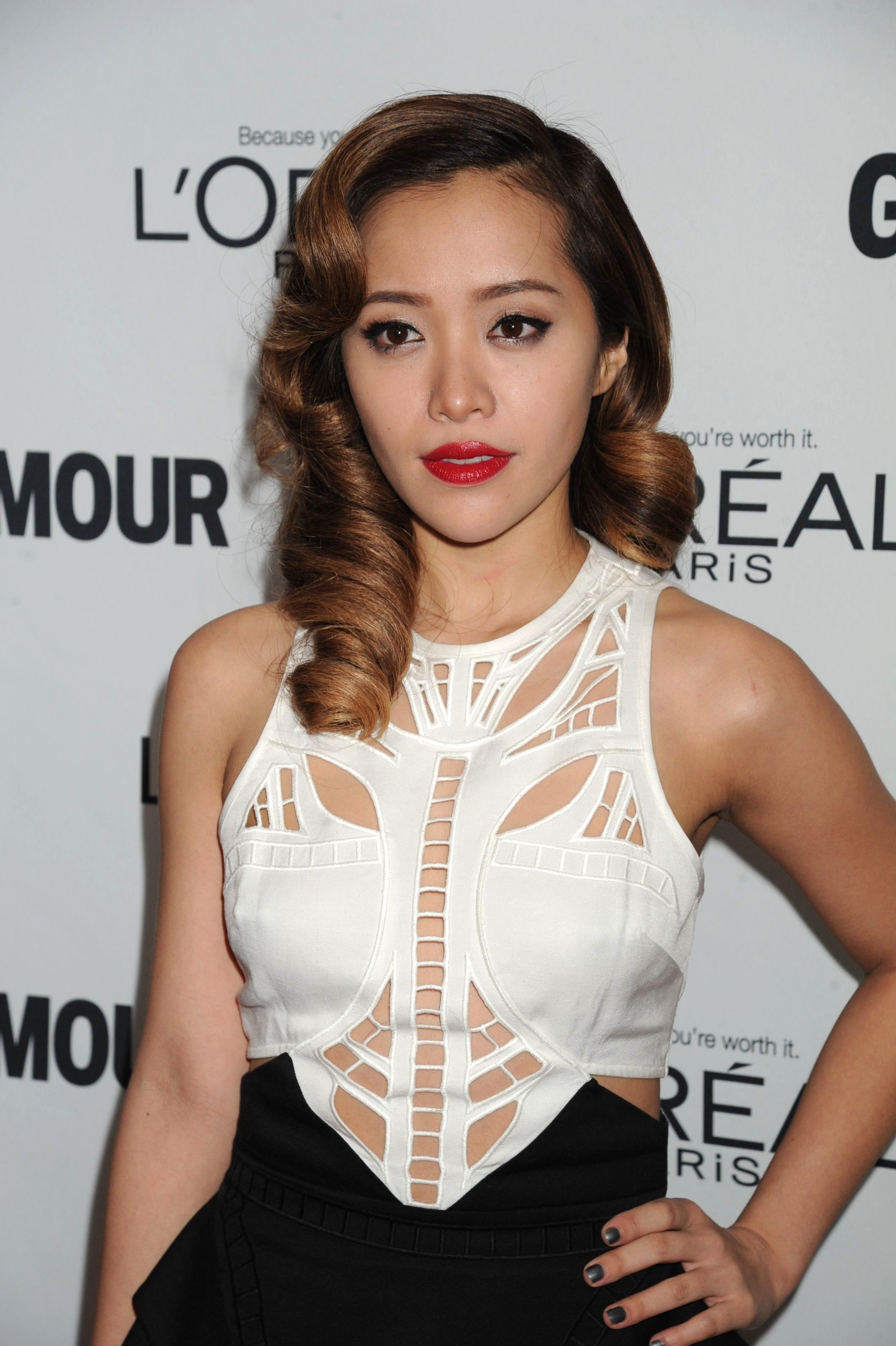 Michelle Phan attends the Glamour Women of the Year Awards in New York on Nov. 11, 2013.