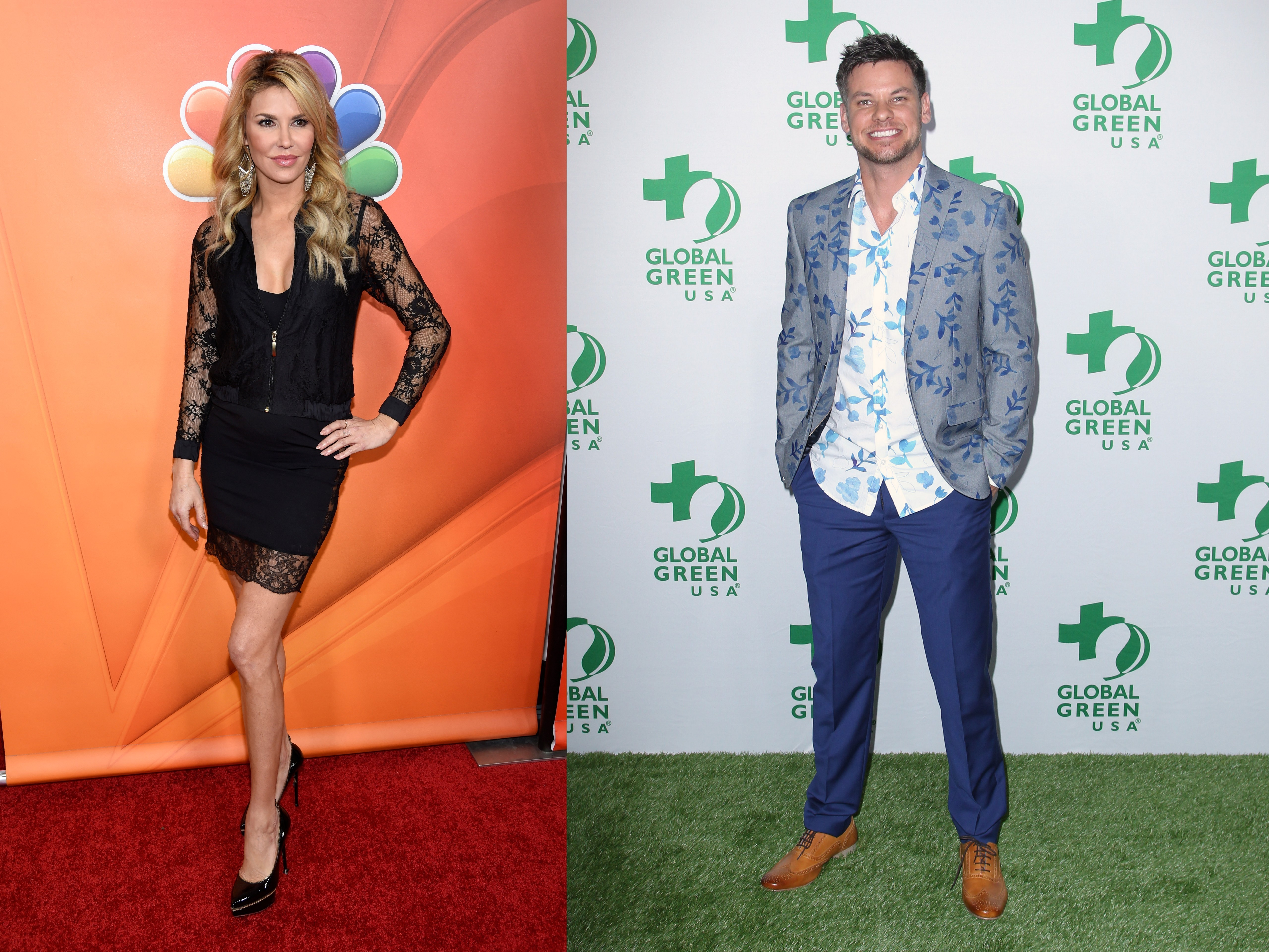 Love is in the air for Brandi Glanville, Theo Von