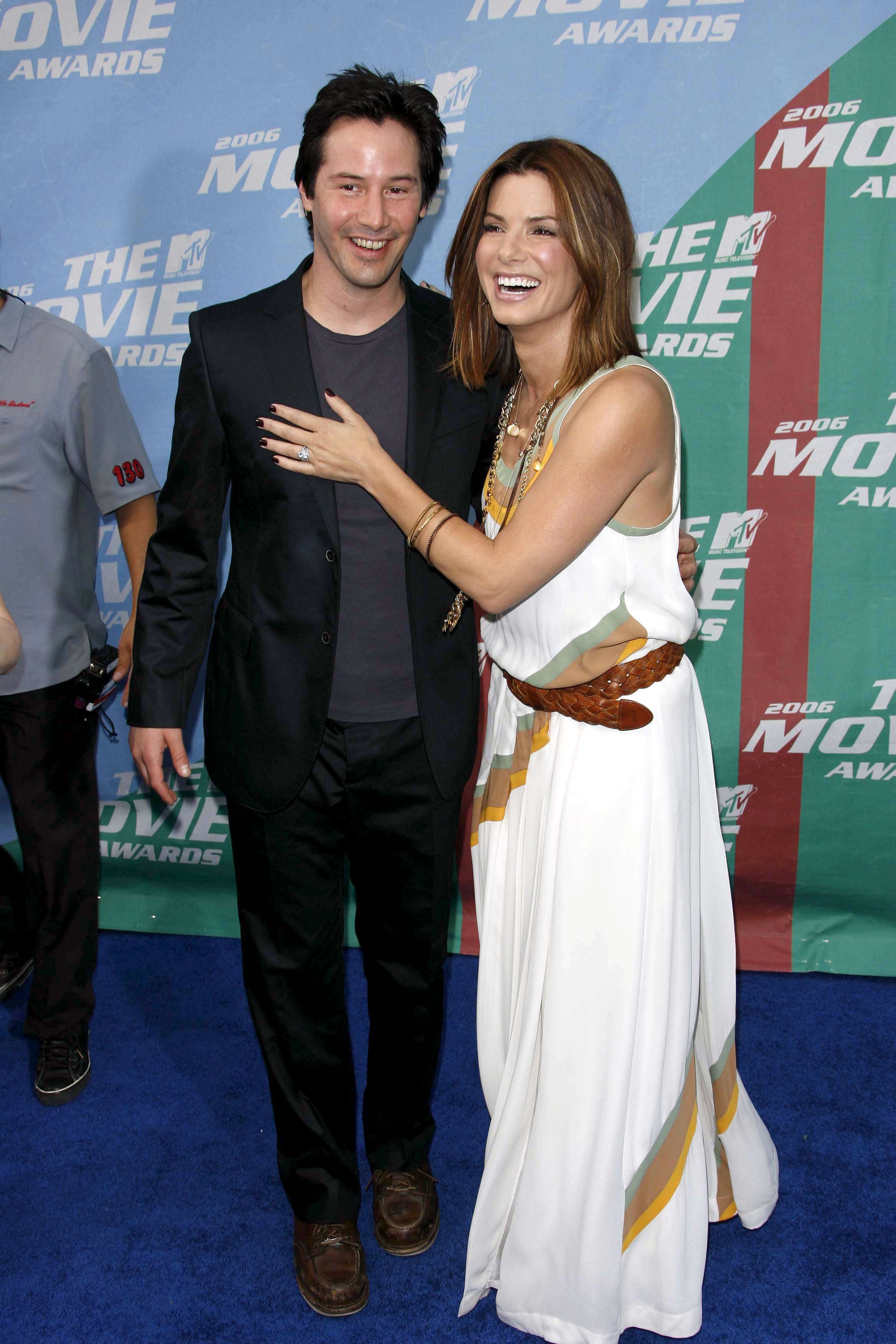 Keanu Reeves, Sandra Bullock had secret crushes on each