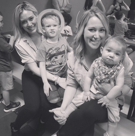 Hilary Duff gives Haylie some National Sibling Day love