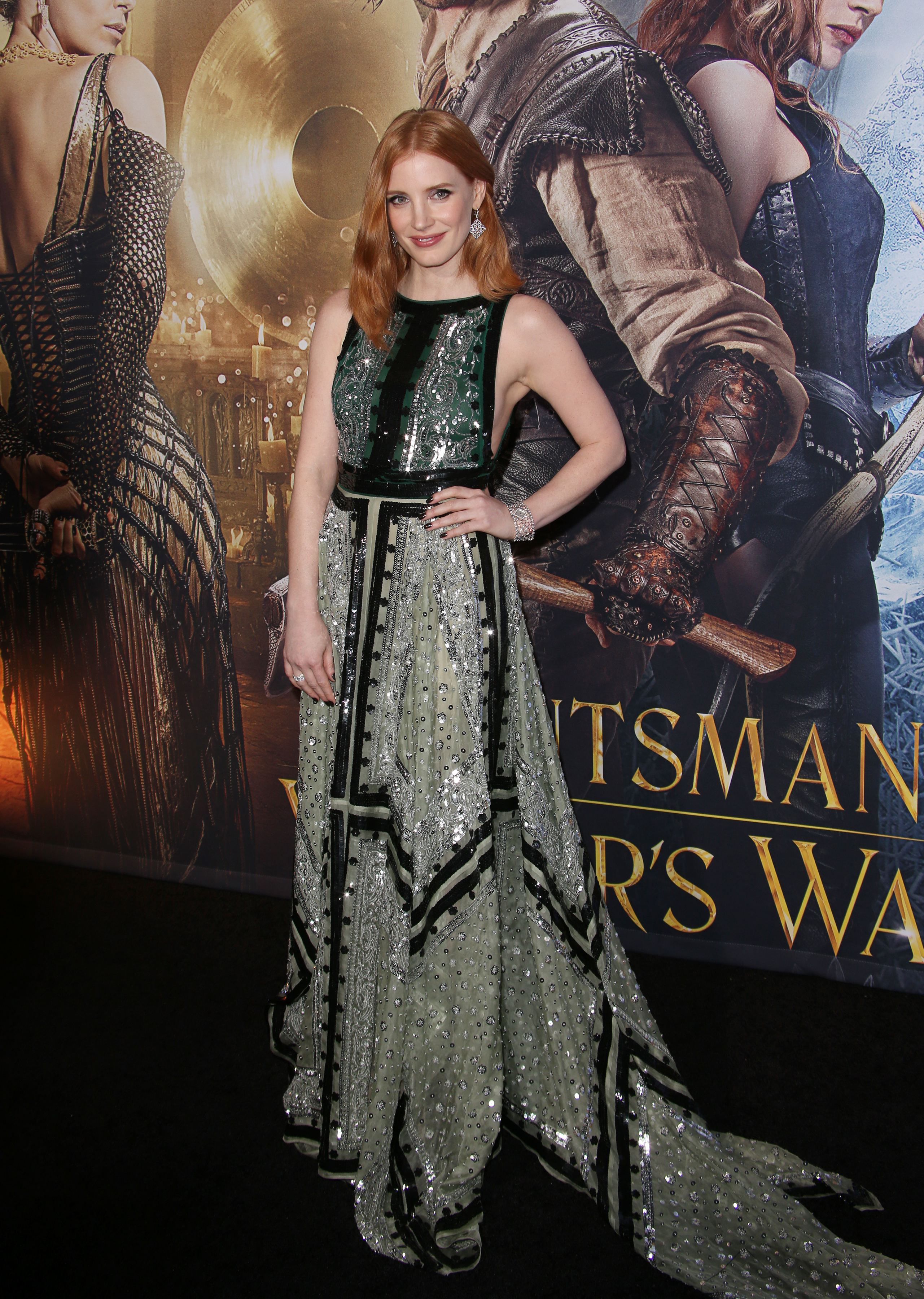 Jessica Chastain relives the time she spanked Madonna