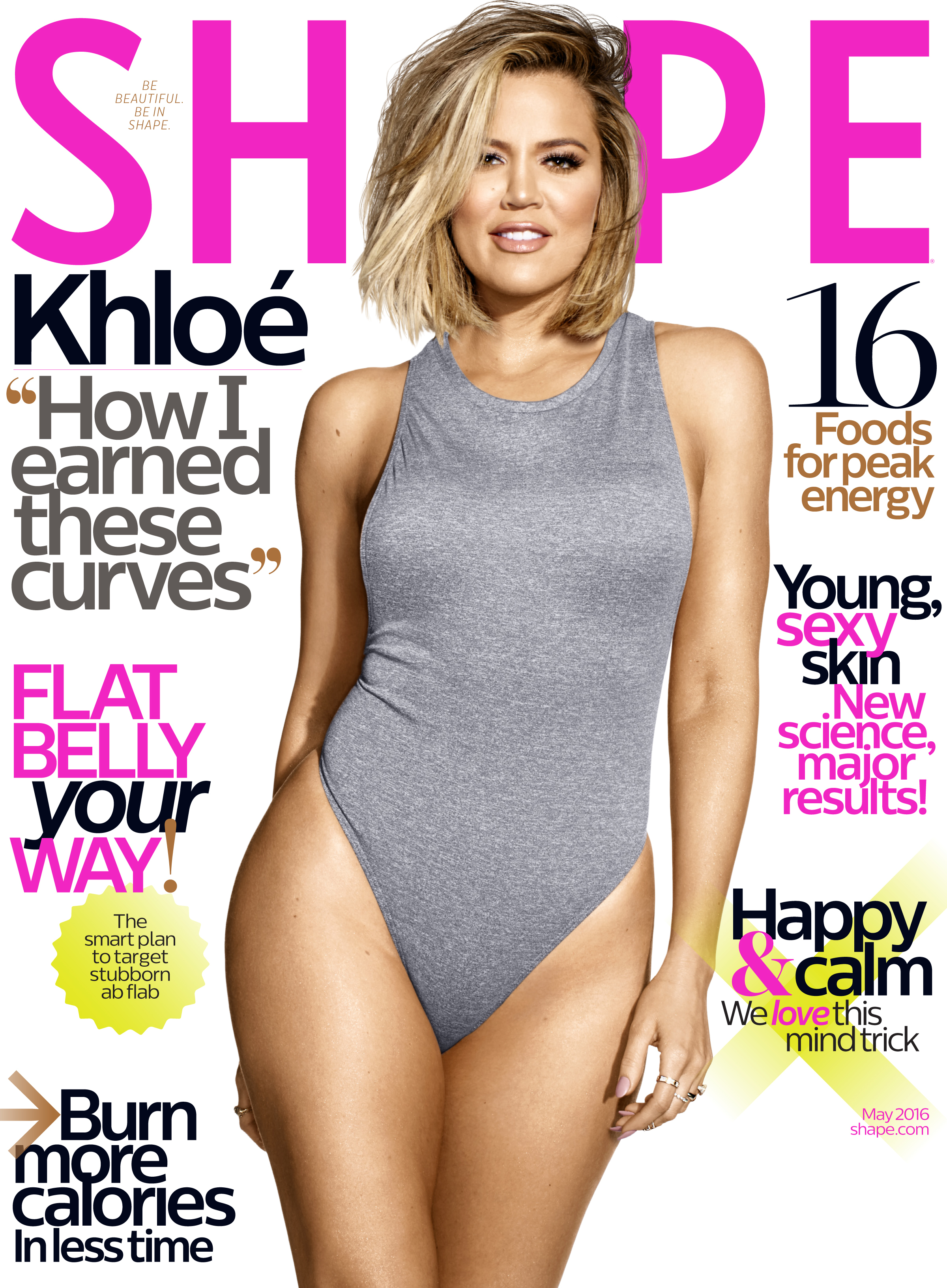 Khloe Kardashian on why she likes to look cute while she works out: