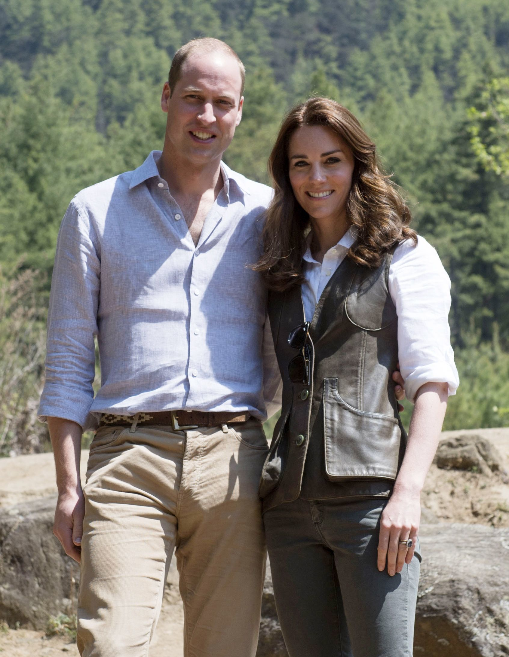 Prince William and Duchess Kate enjoyed private spa treatments in India