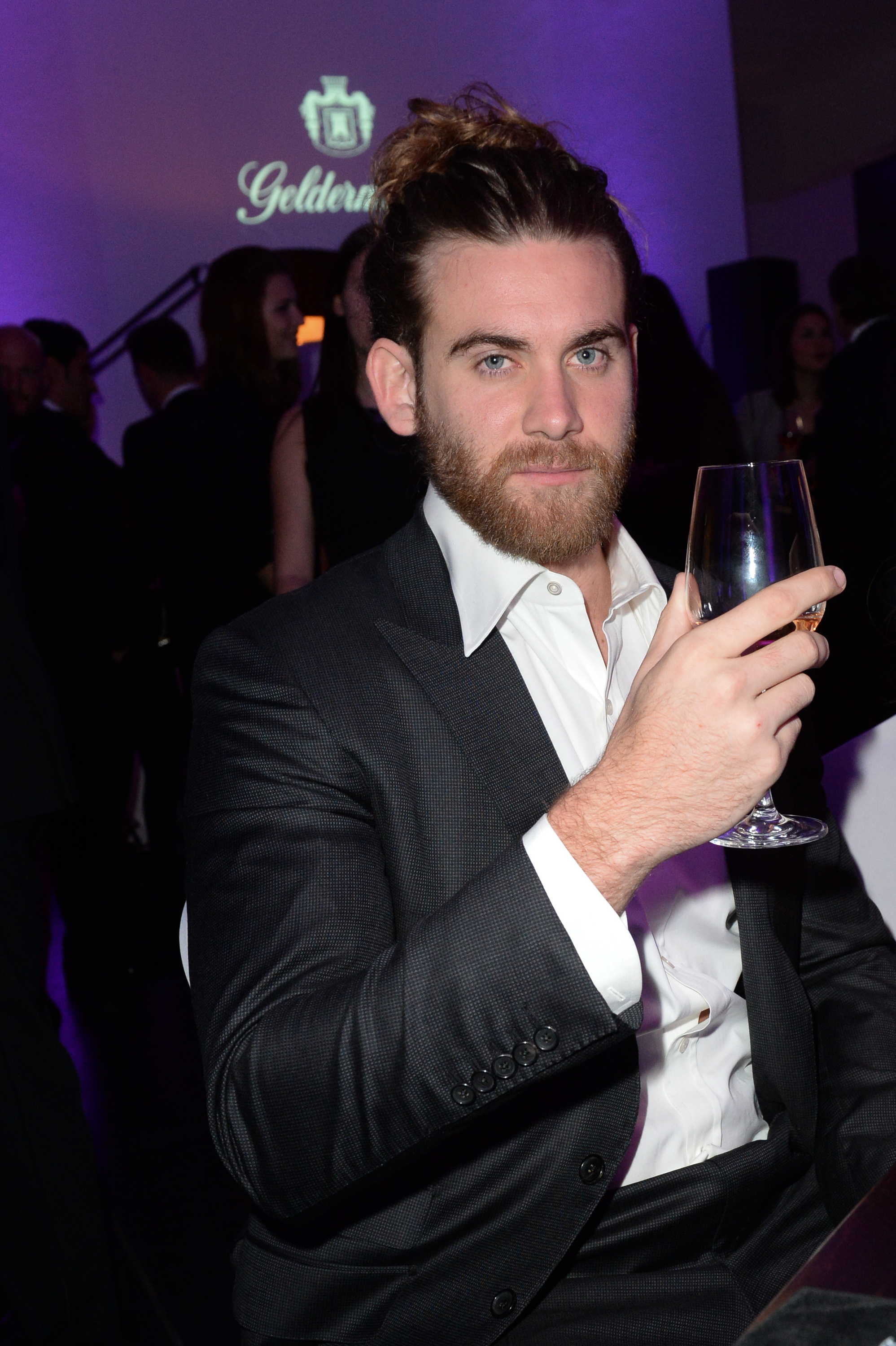 Brock O'Hurn attends the SPECTRE   by S.T. Dupont launch event in Berlin on November 4, 2015.