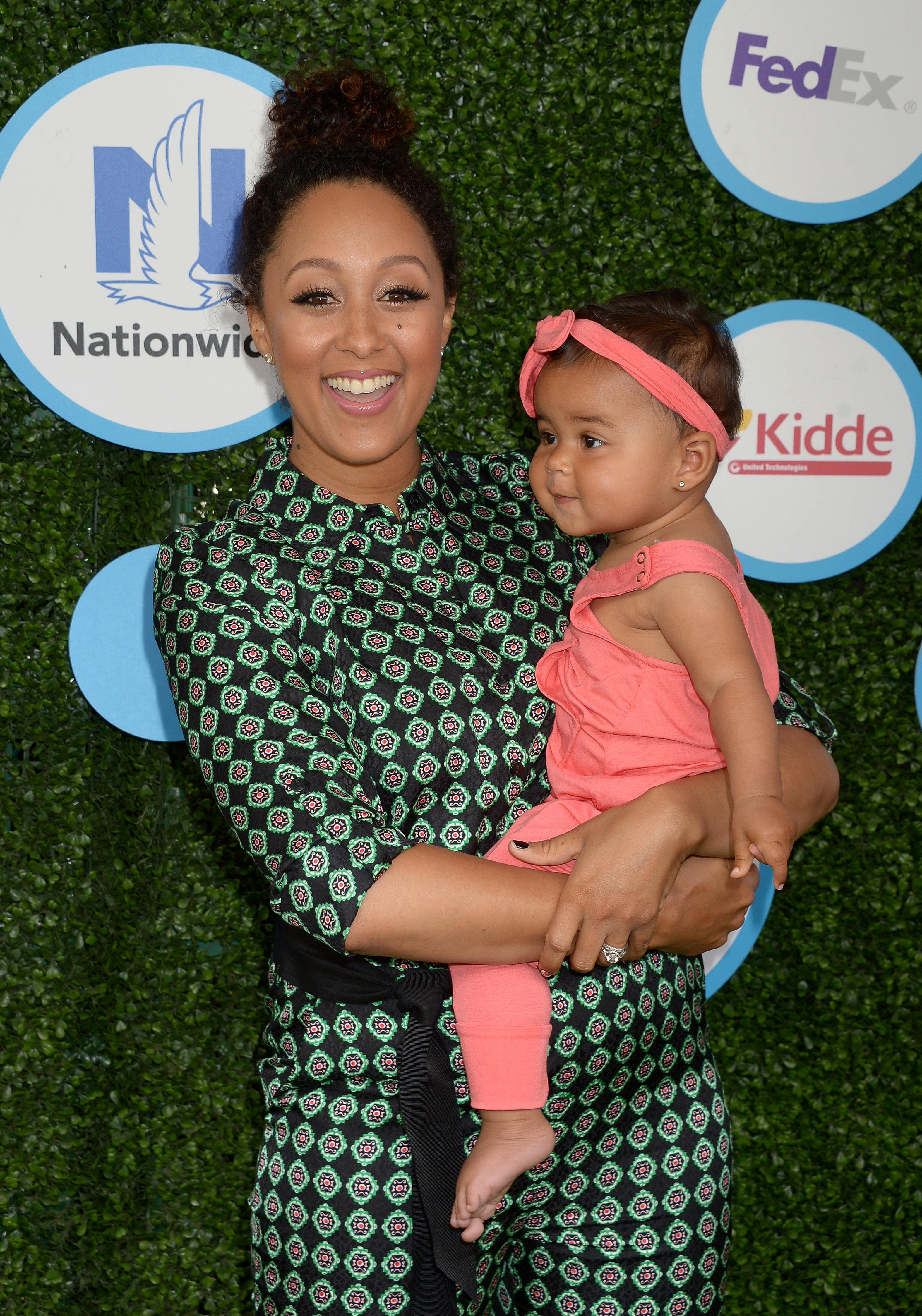 Tamera Mowry on Total Wireless' Total Boss Mom Program: