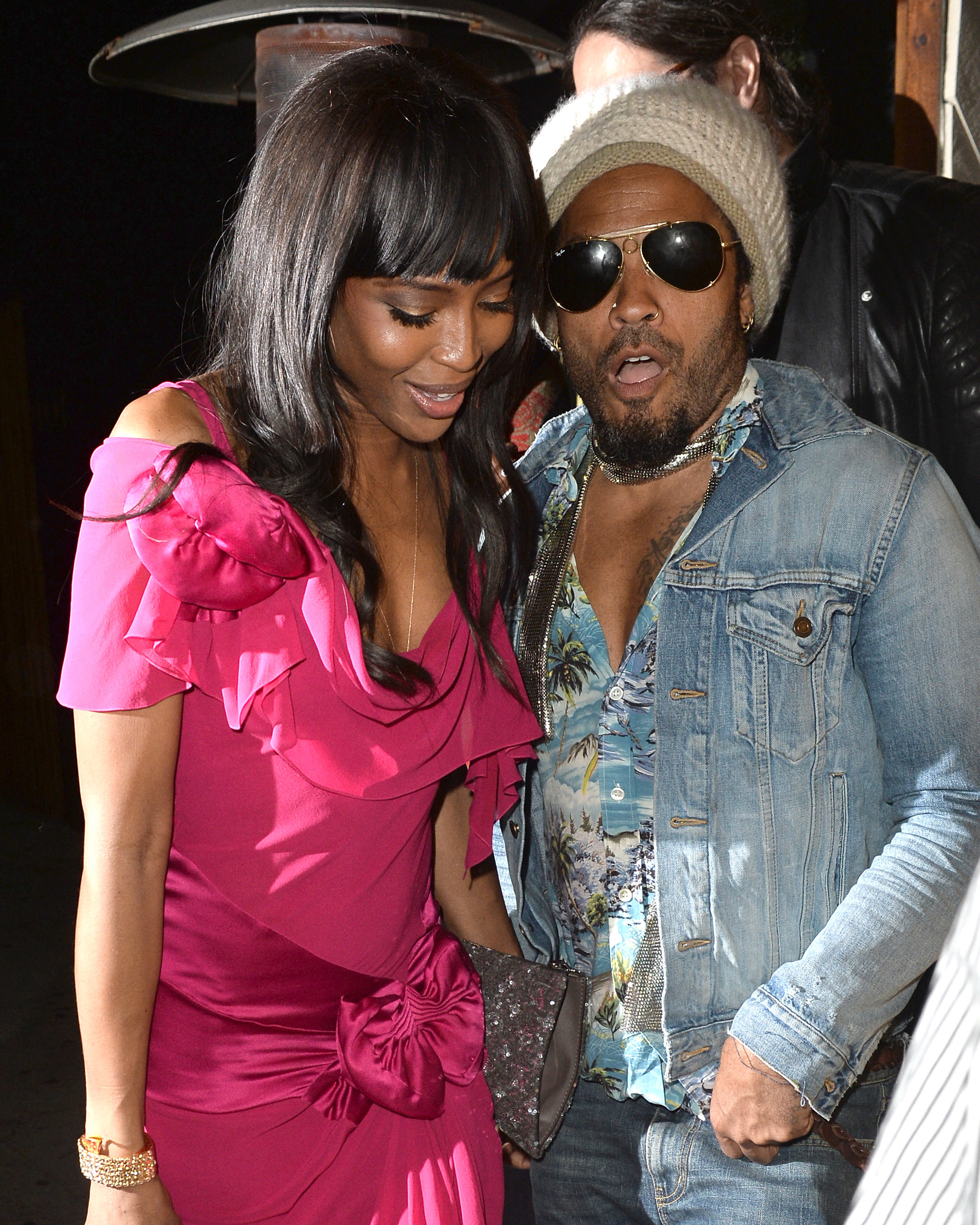 Are Naomi Campbell and Lenny Kravitz dating?