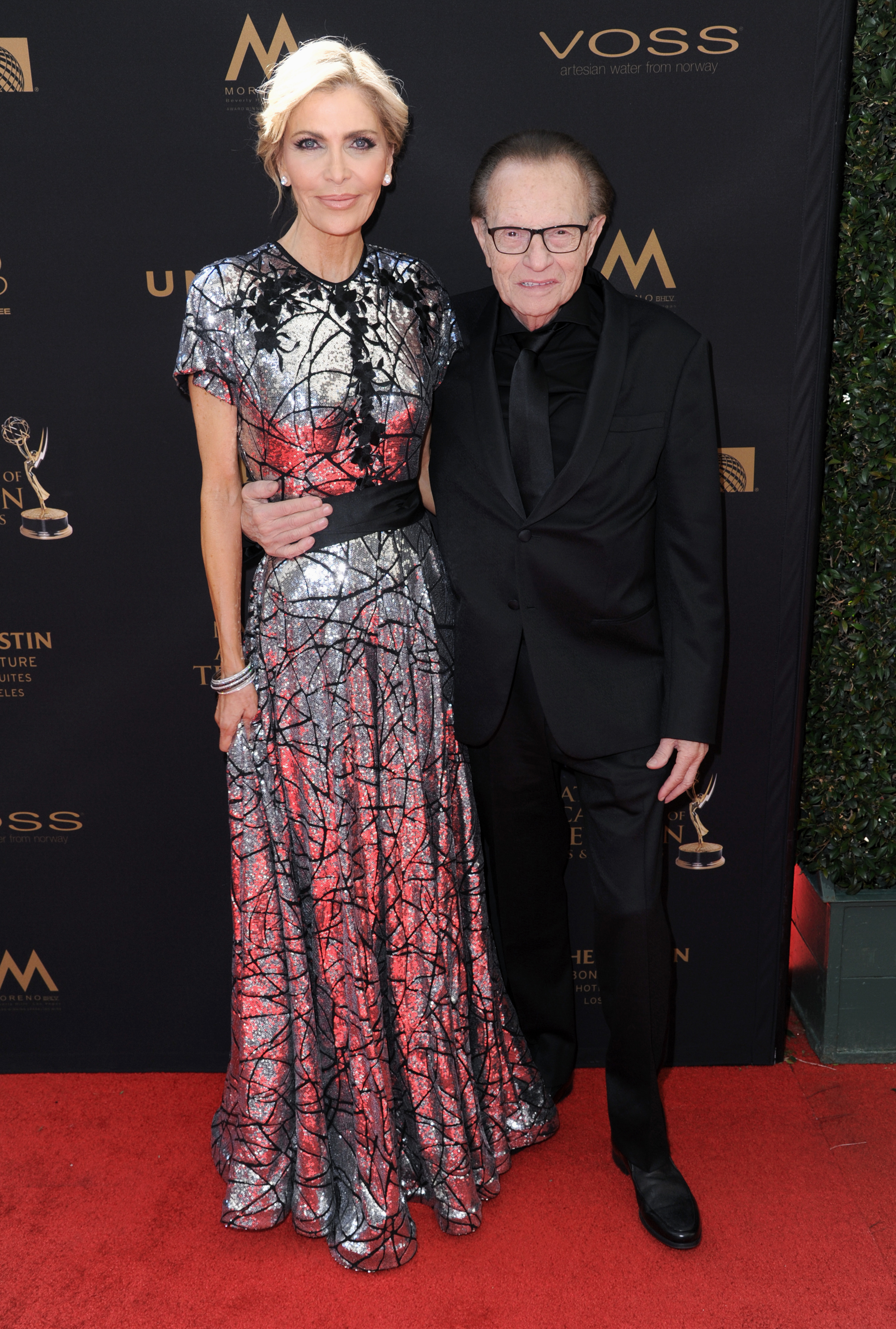 larry king wife daytime emmys