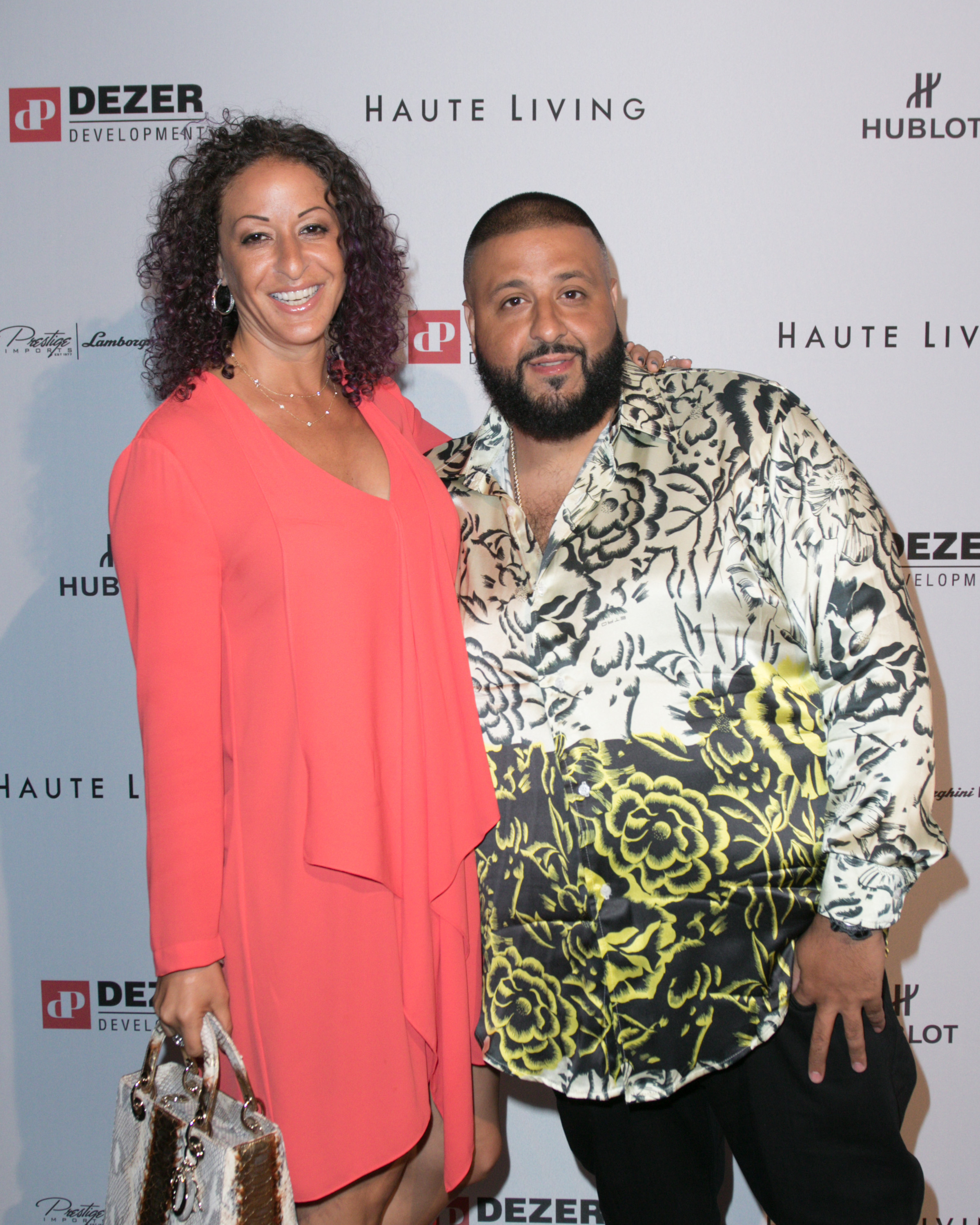 DJ Khaled's going to be a dad!