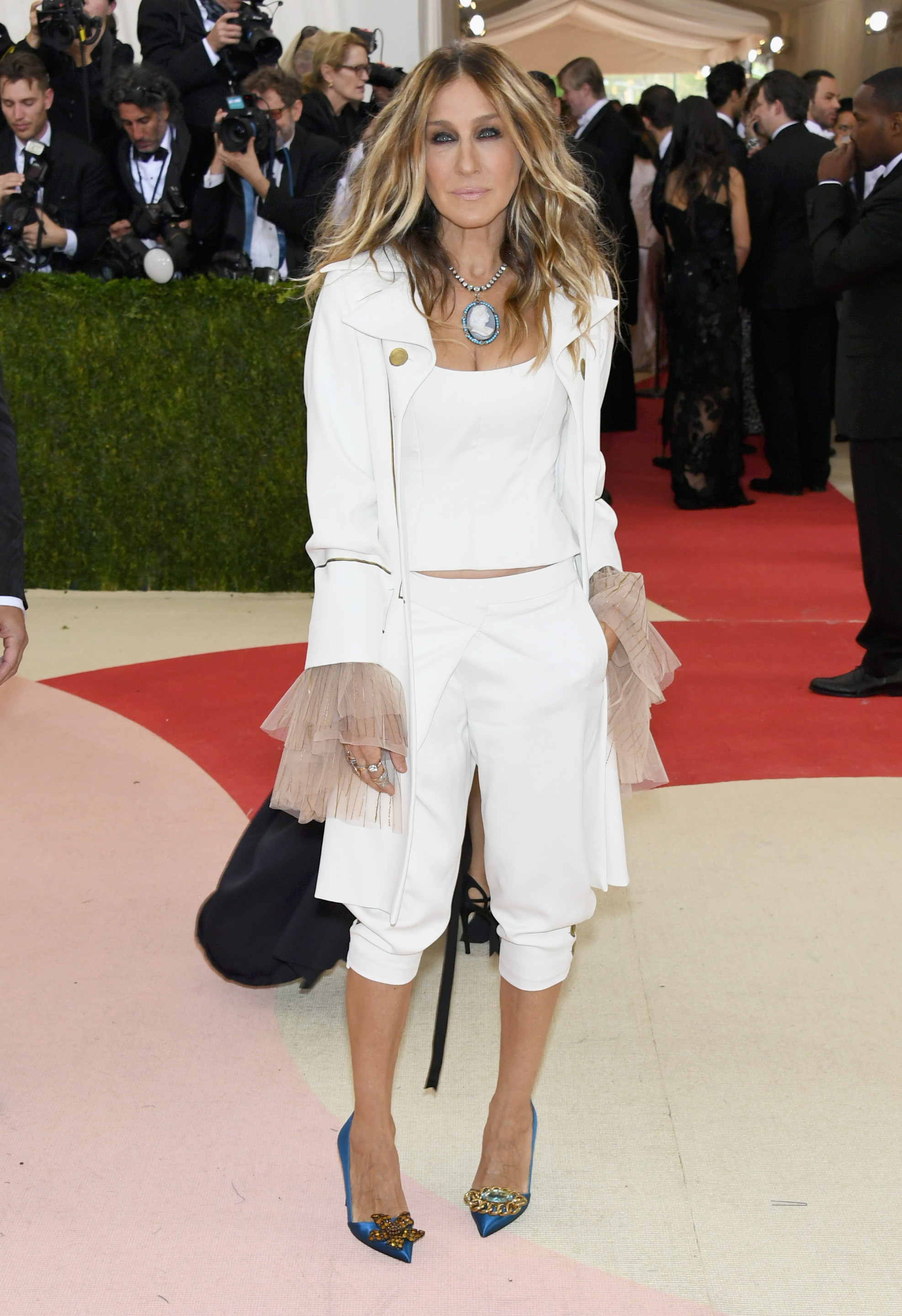 Sarah Jessica Parker slams blooger of Met Gala crtique