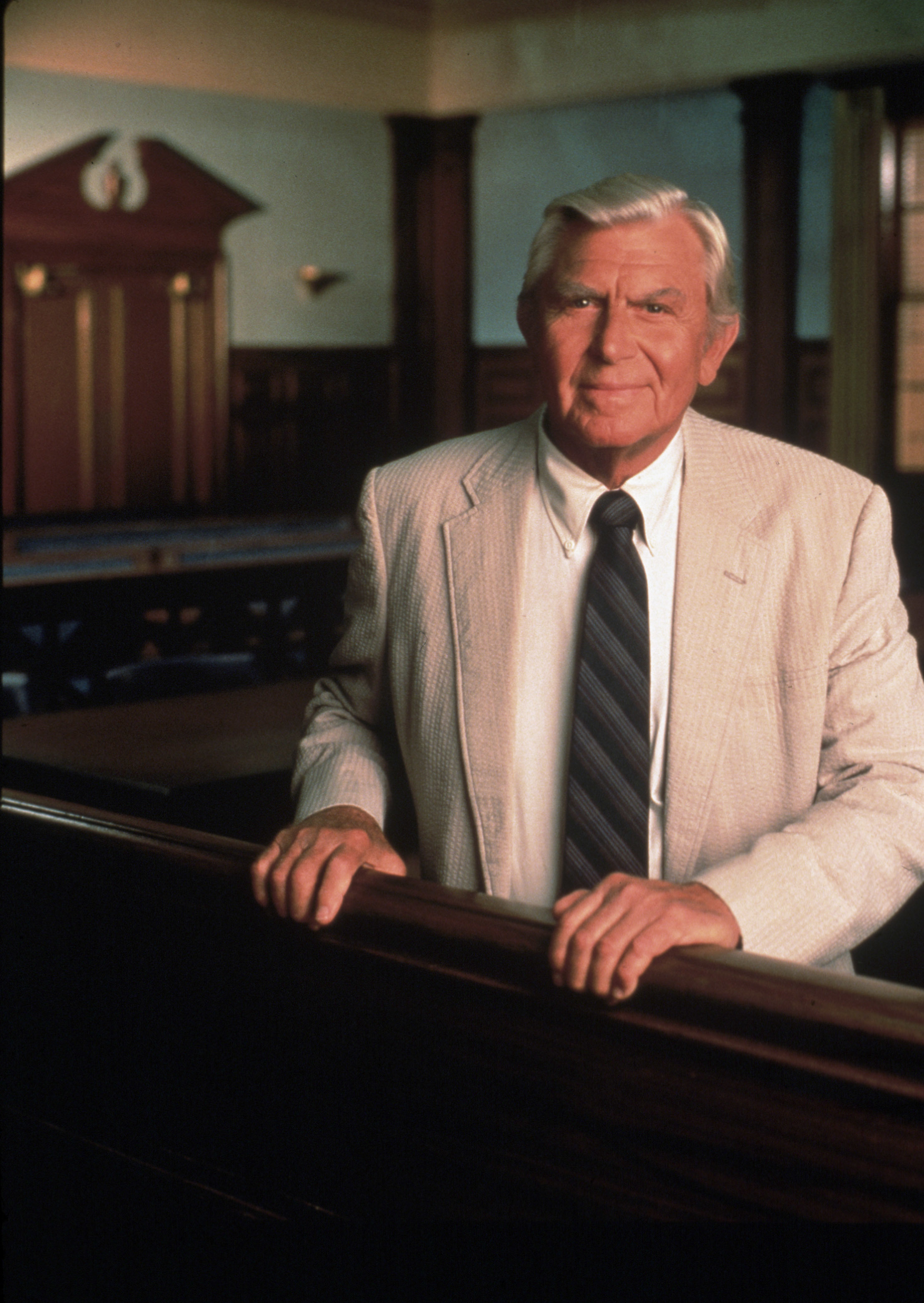"Andy Griffith as Ben Matlock on ""Matlock"""
