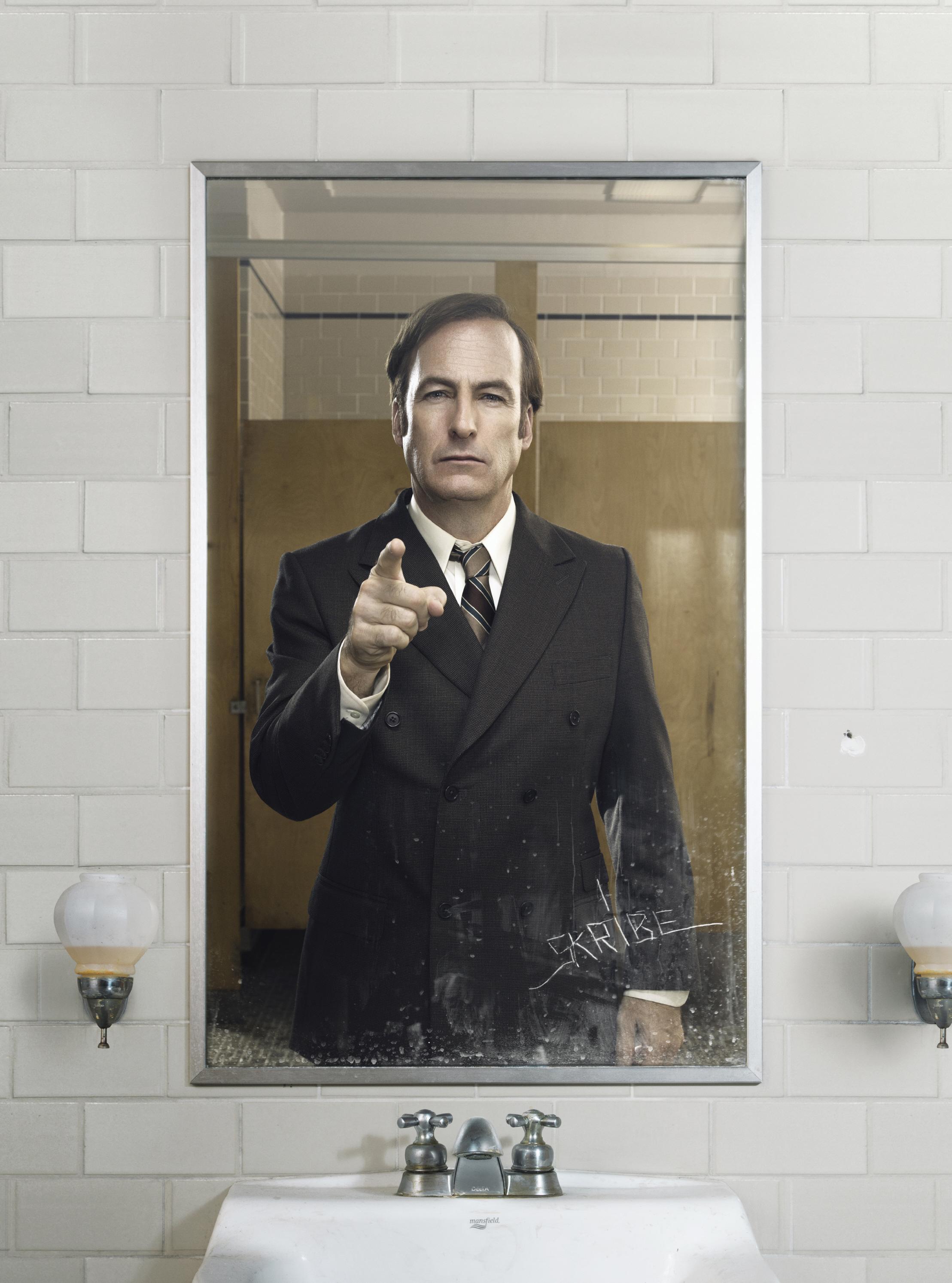 "Bob Odenkirk as Jimmy McGill on ""Better Call Saul"""