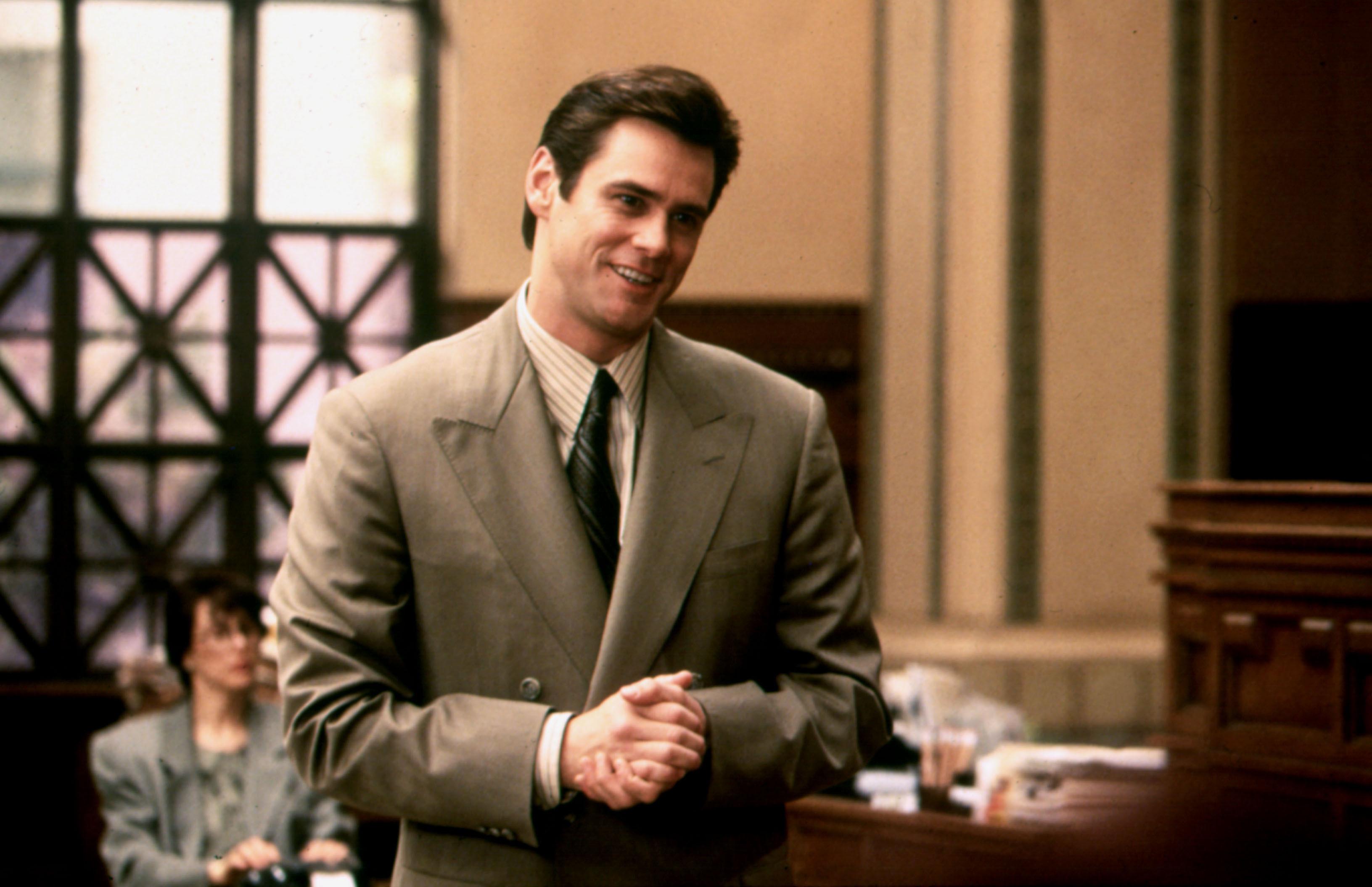"Jim Carrey as Fletcher Reede in ""Liar Liar"""