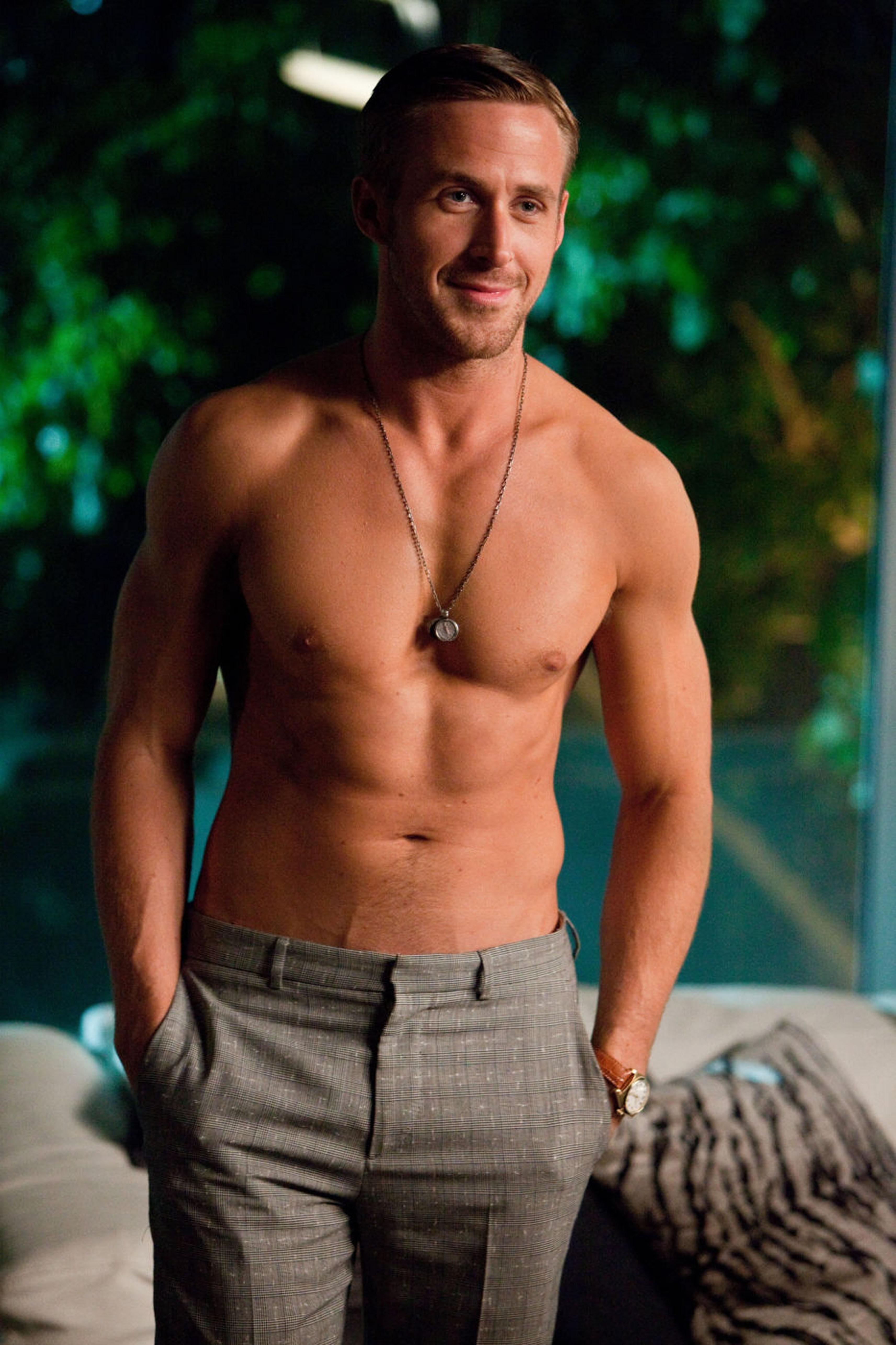 Ryan Gosling: Shirtless in a movie