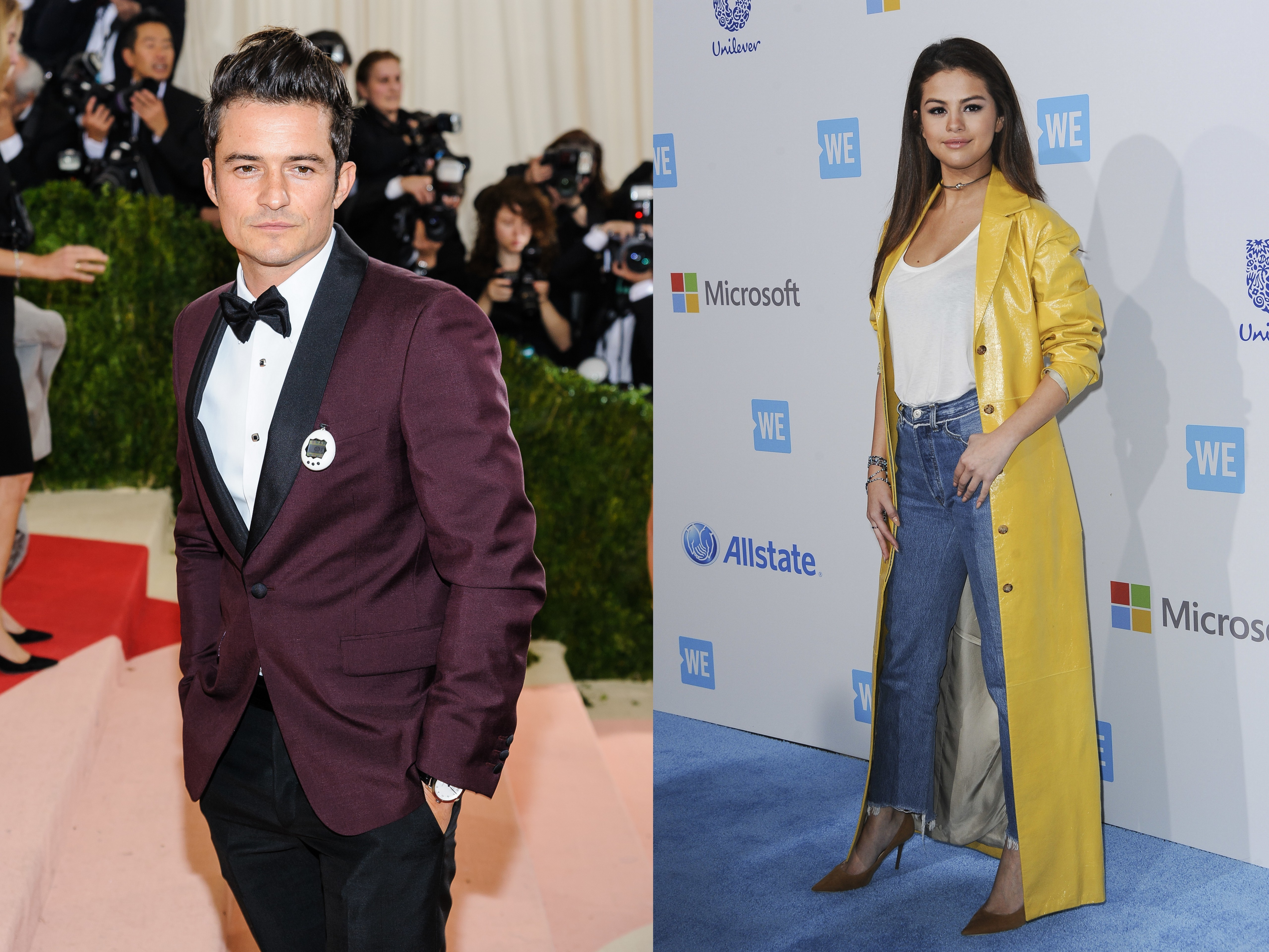 Did Orlando Bloom hook up with Selena Gomez?
