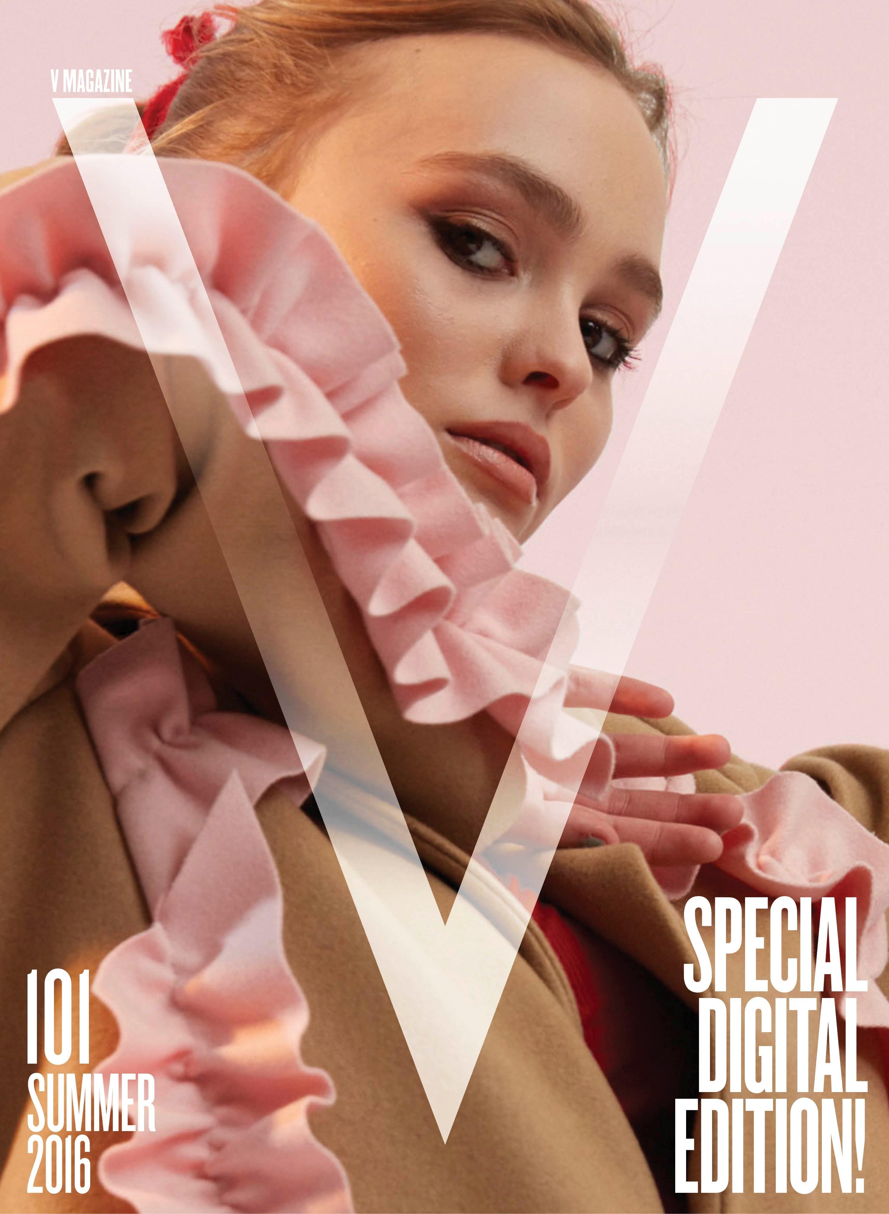 Lily Rose Depp talks 'Yoga Hosers' in V magazine
