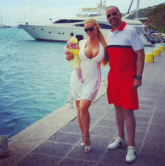 Coco, Chanel and Ice T go on their first family vacay