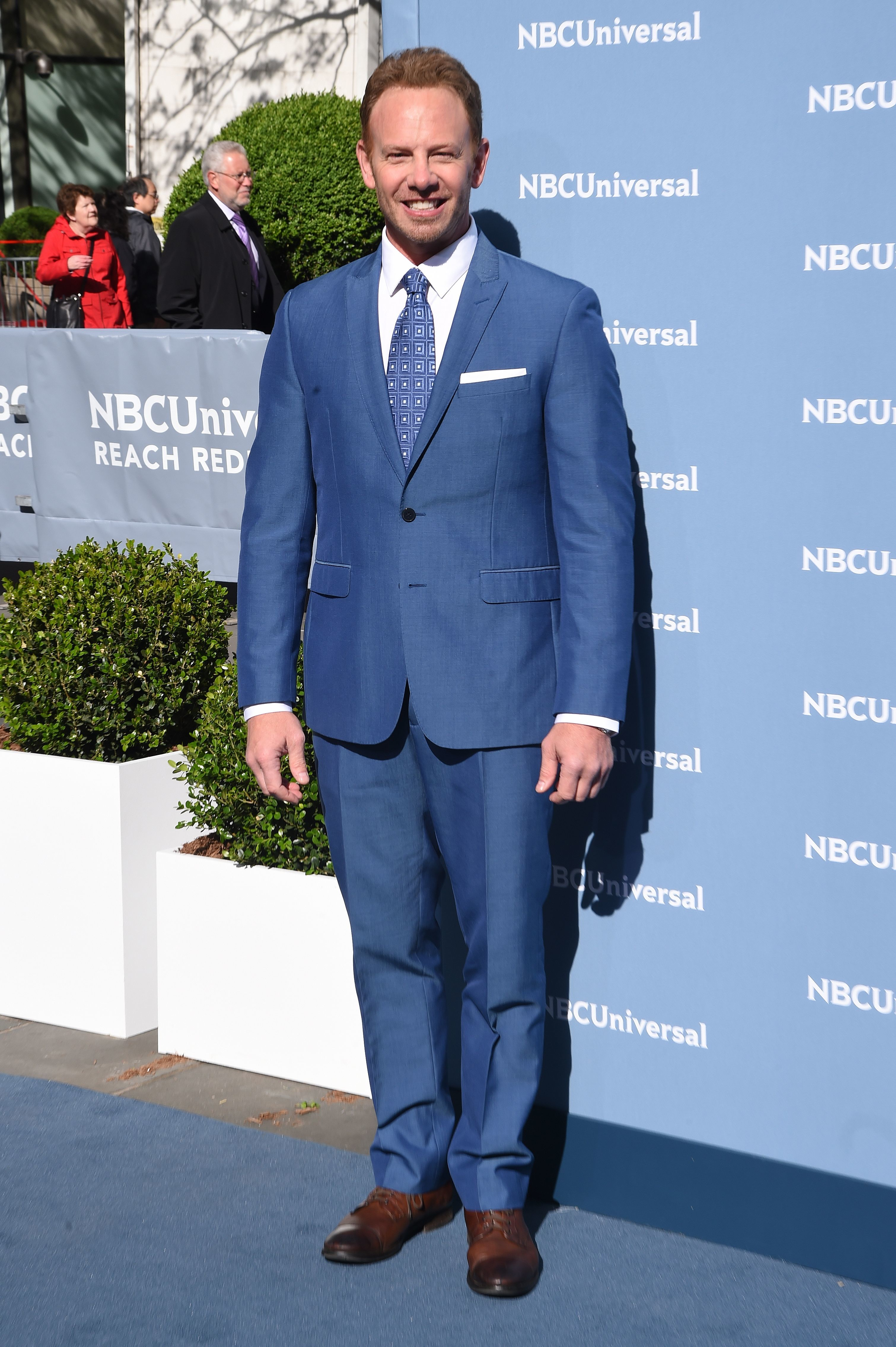 Ian Ziering on being a bed wetter as a child: