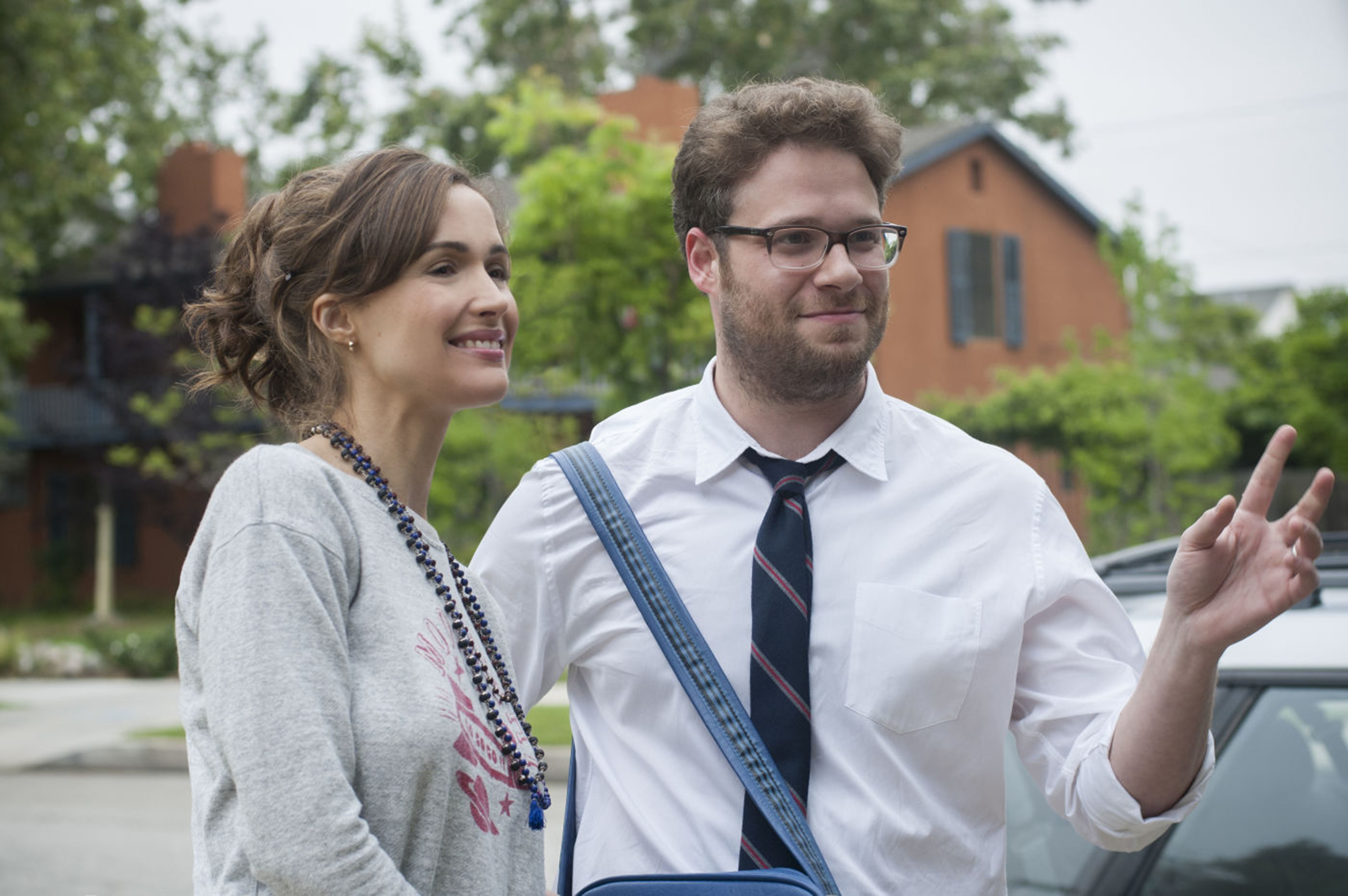 Rose Byrne on why she and Seth Rogen make such a great on screen pair:
