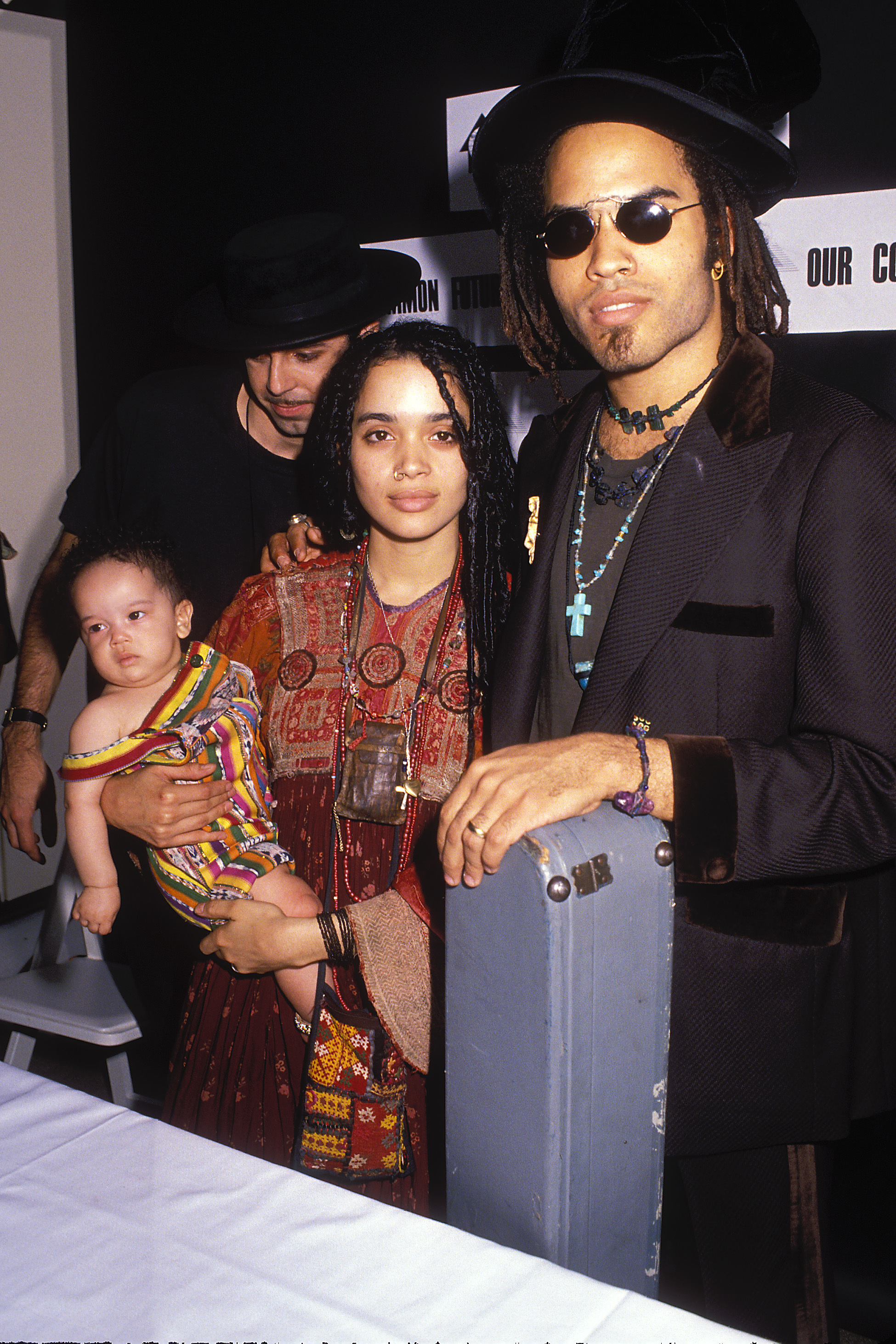 2. Lenny and Lisa were always fashion forward with Zoe