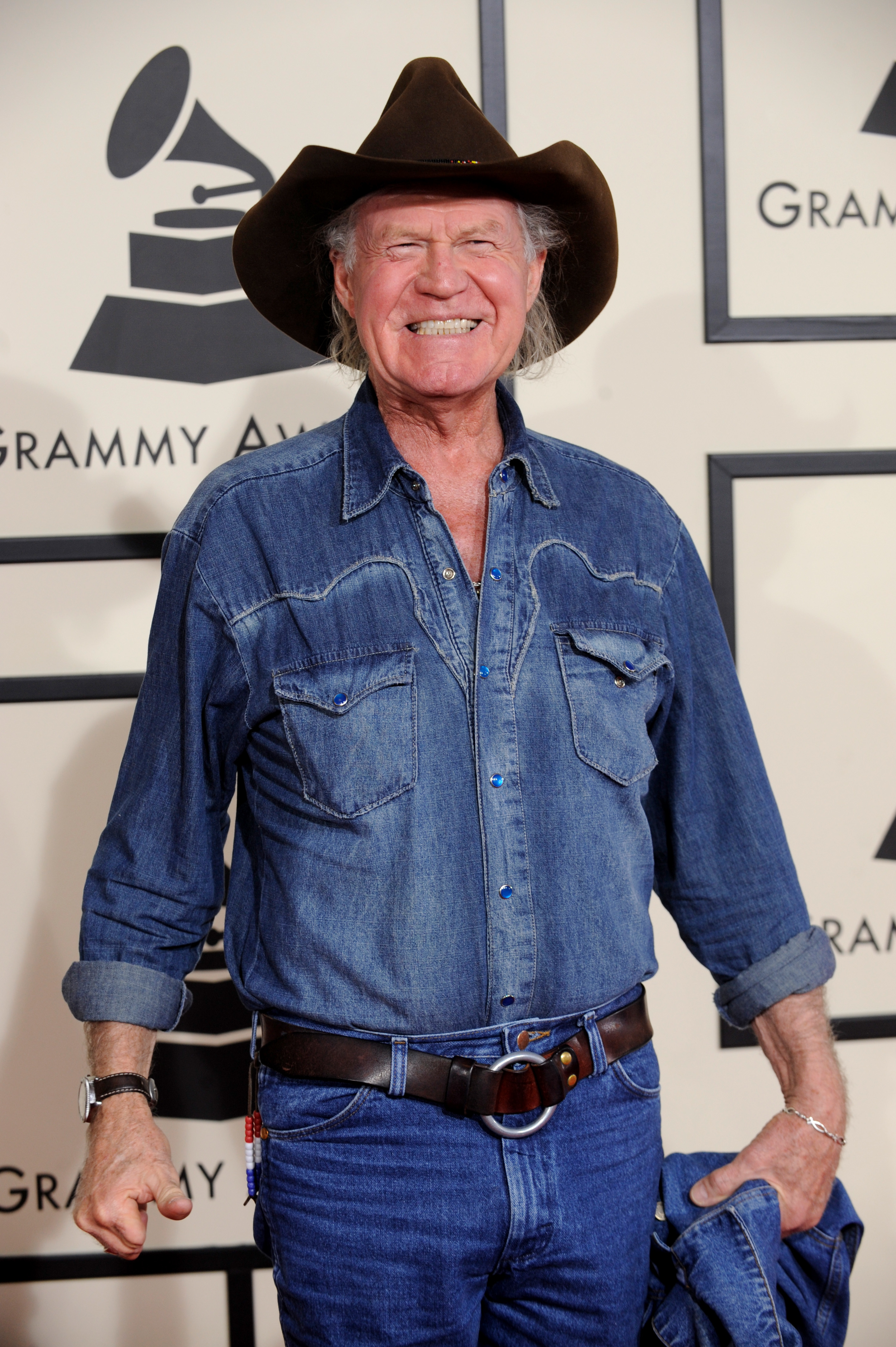 Billy Joe Shaver shot a man in the face