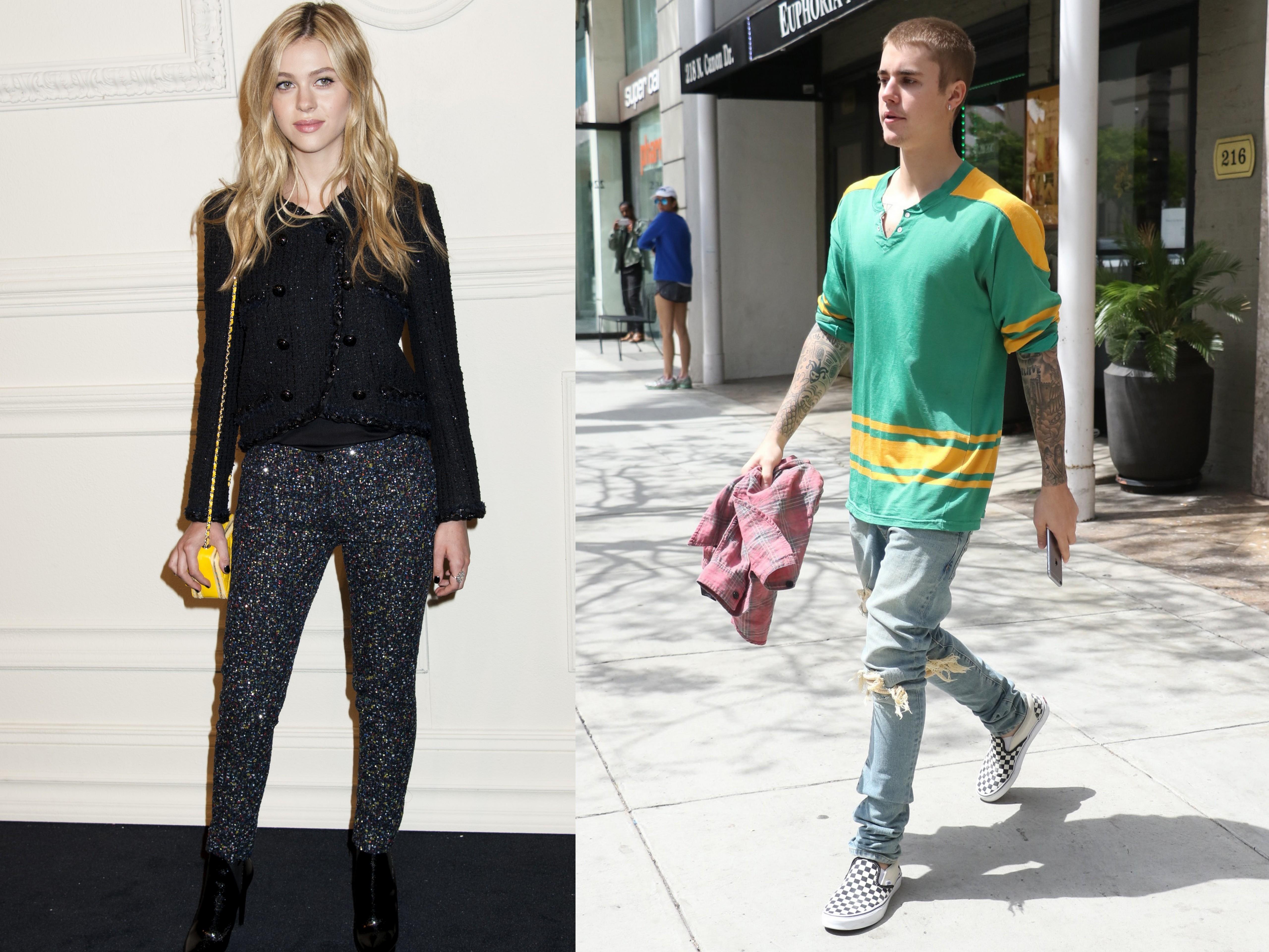 Justin Bieber enjoys a dinner date with Nicola Peltz