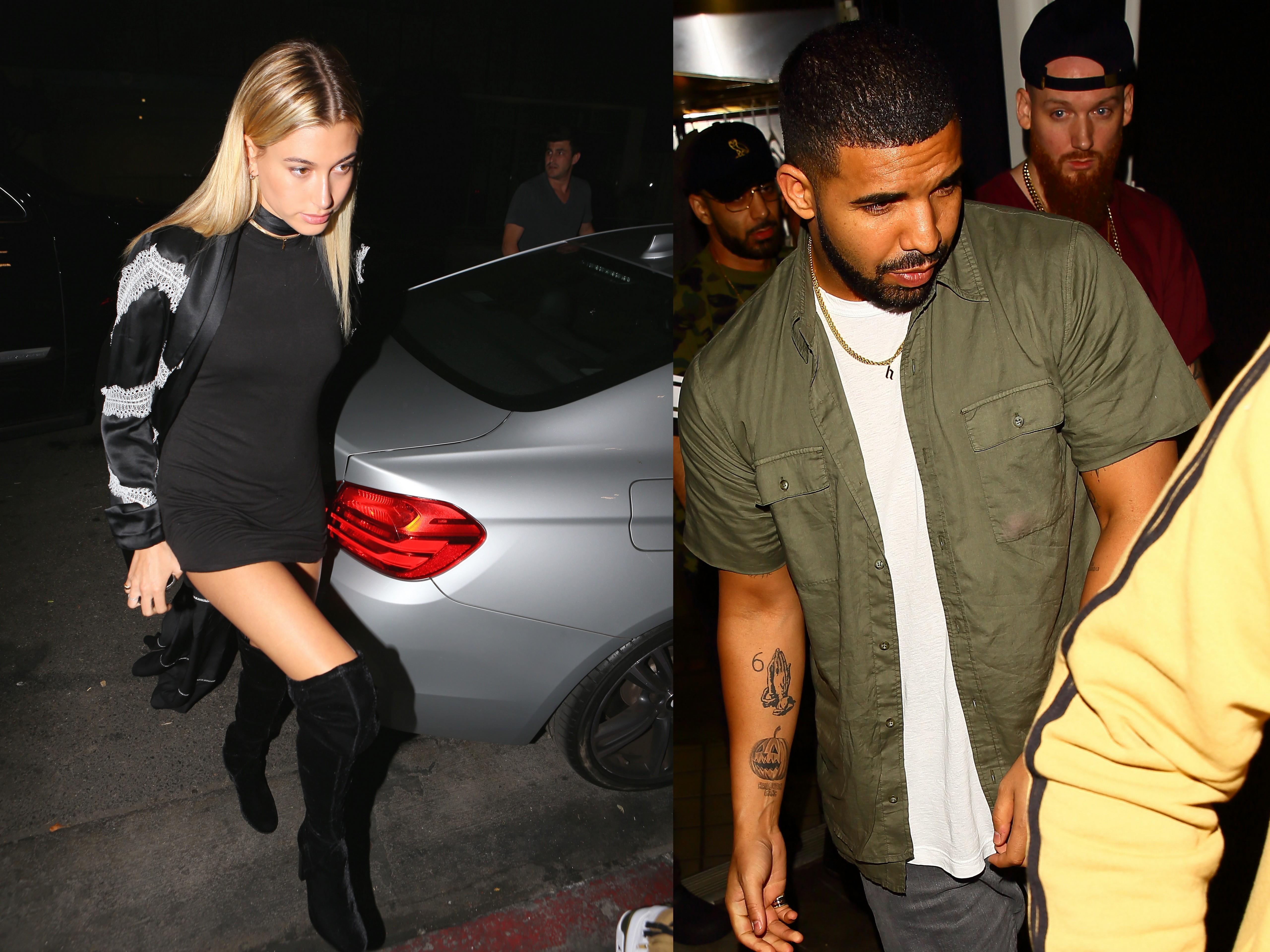 Romance rumors continue swirling around Drake, Hailey Baldwin