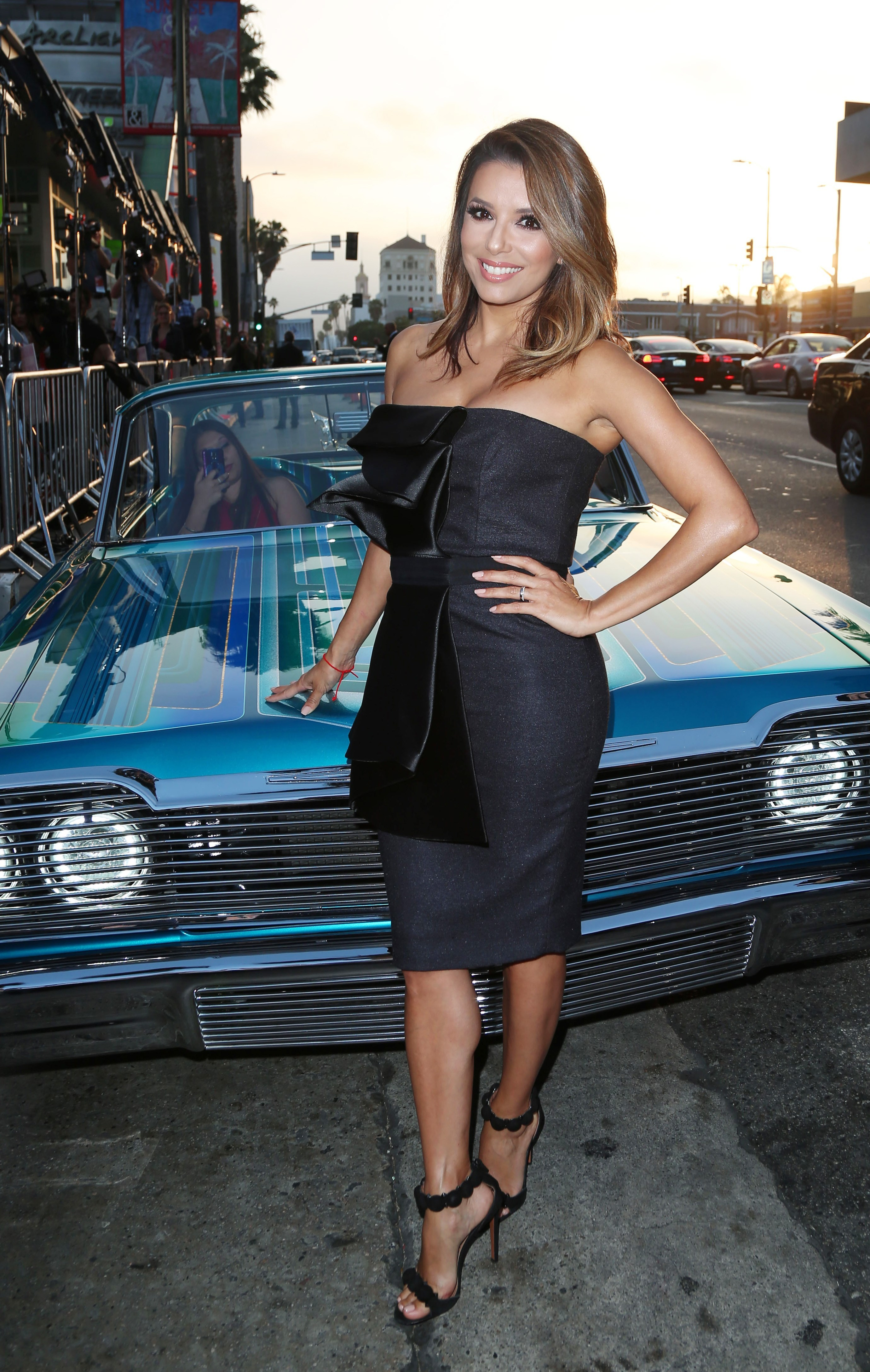 Eva Longoria chats about her 'work to wine' Limited collection
