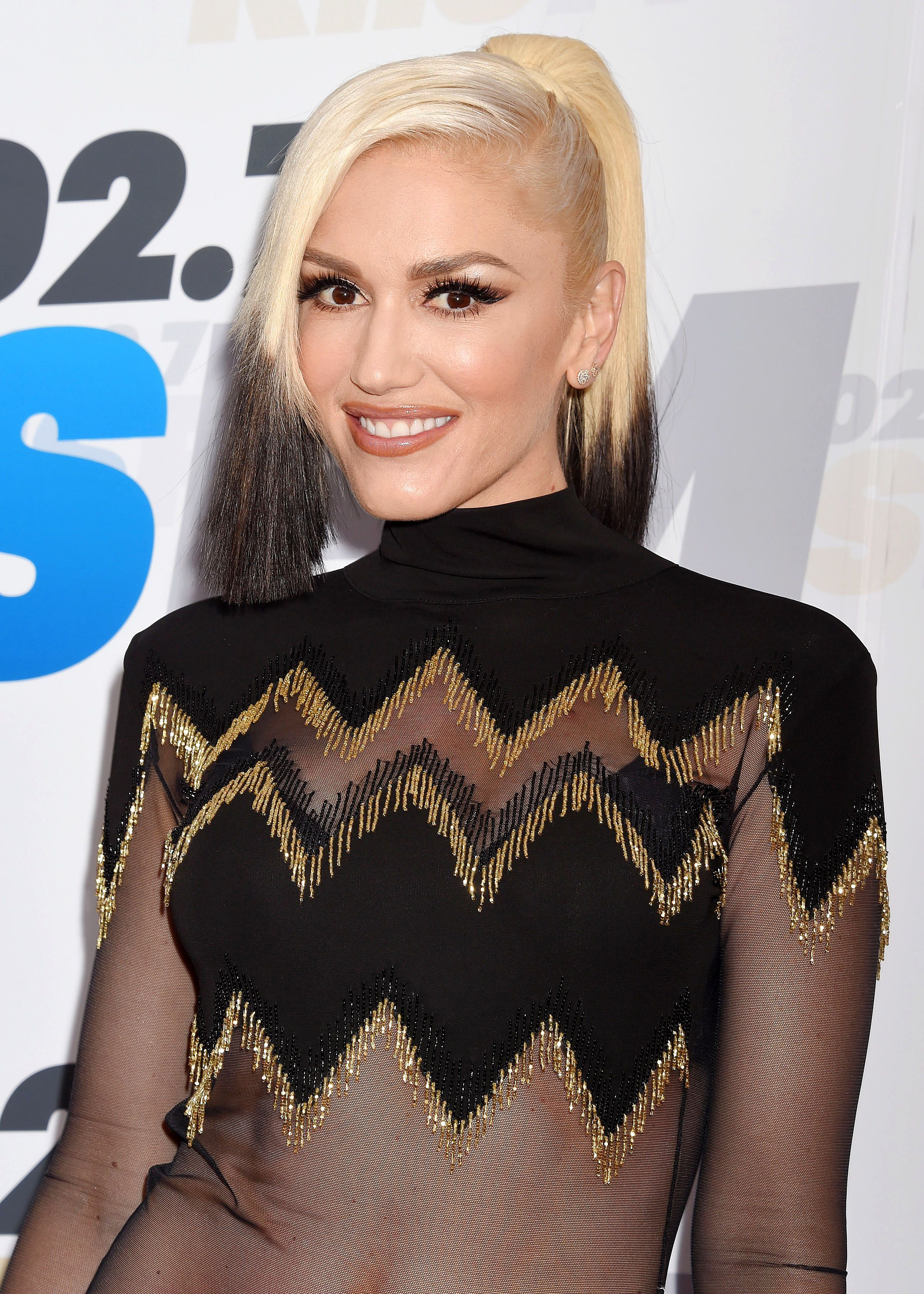 Gwen Stefani's been getting her roots done weekly for two decades
