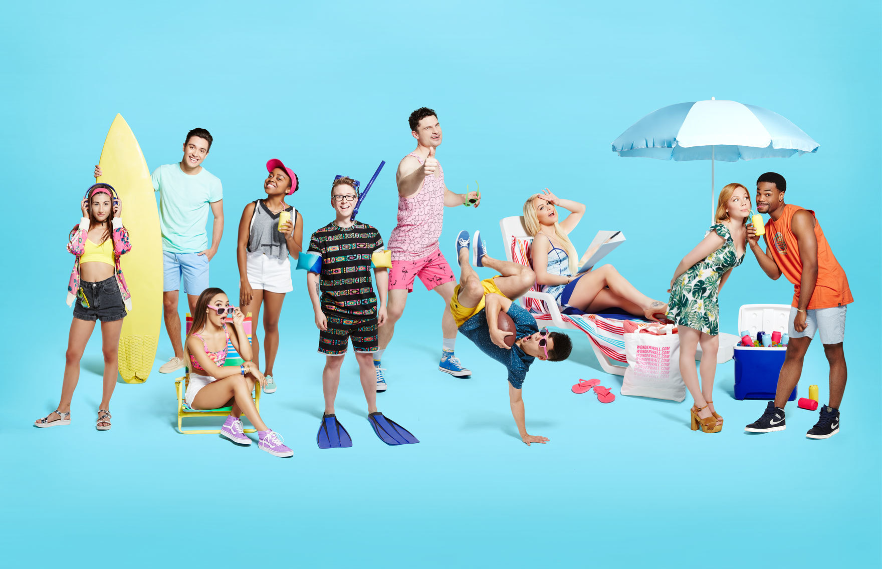 Tyler Oakley, Gigi Gorgeous, Gabriel Conte, MayBaby, King Bach and more come to Wonderwall.com.