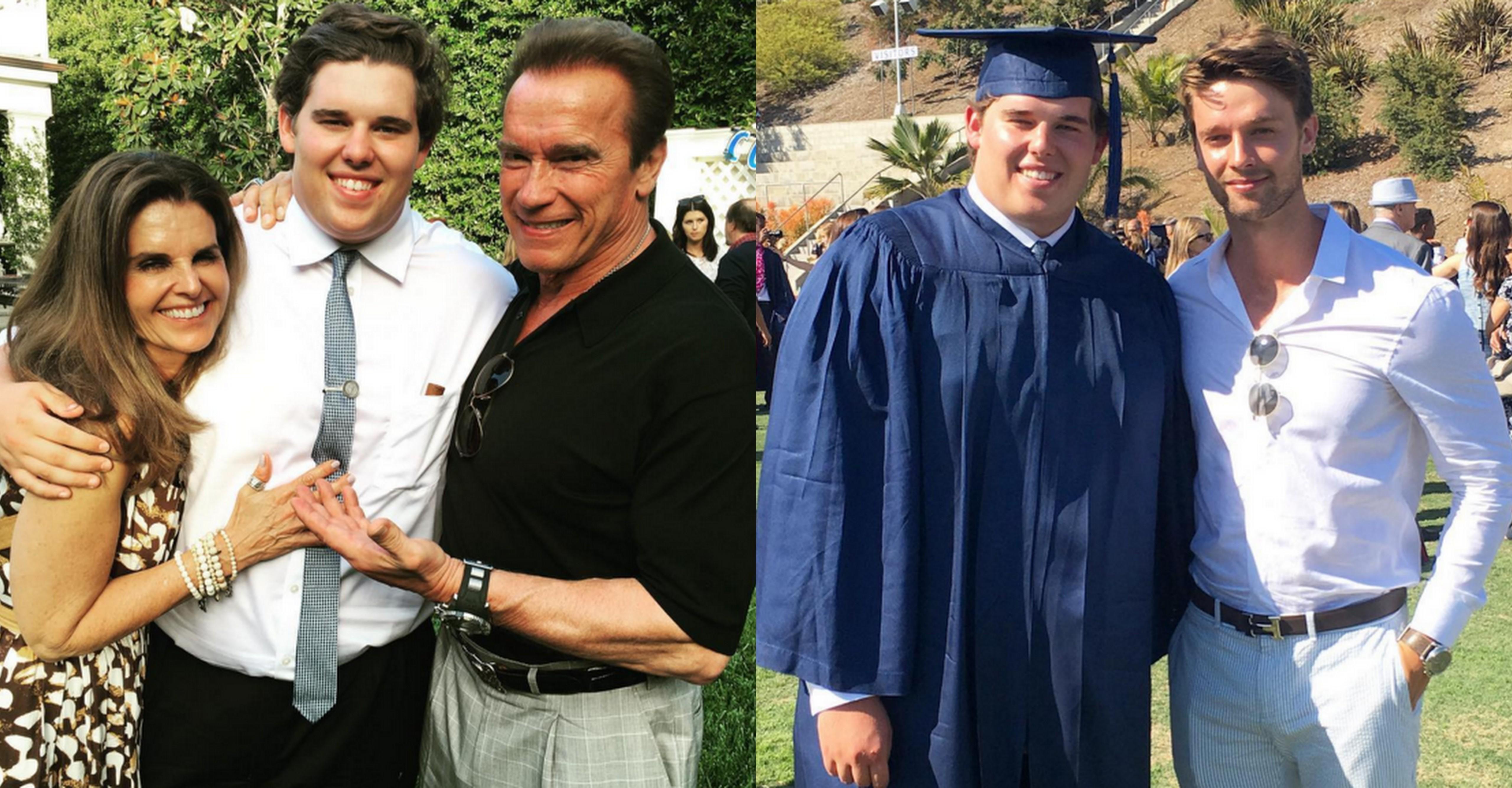 Maria Shriver and Arnold Schwarzenegger's son graduates high school