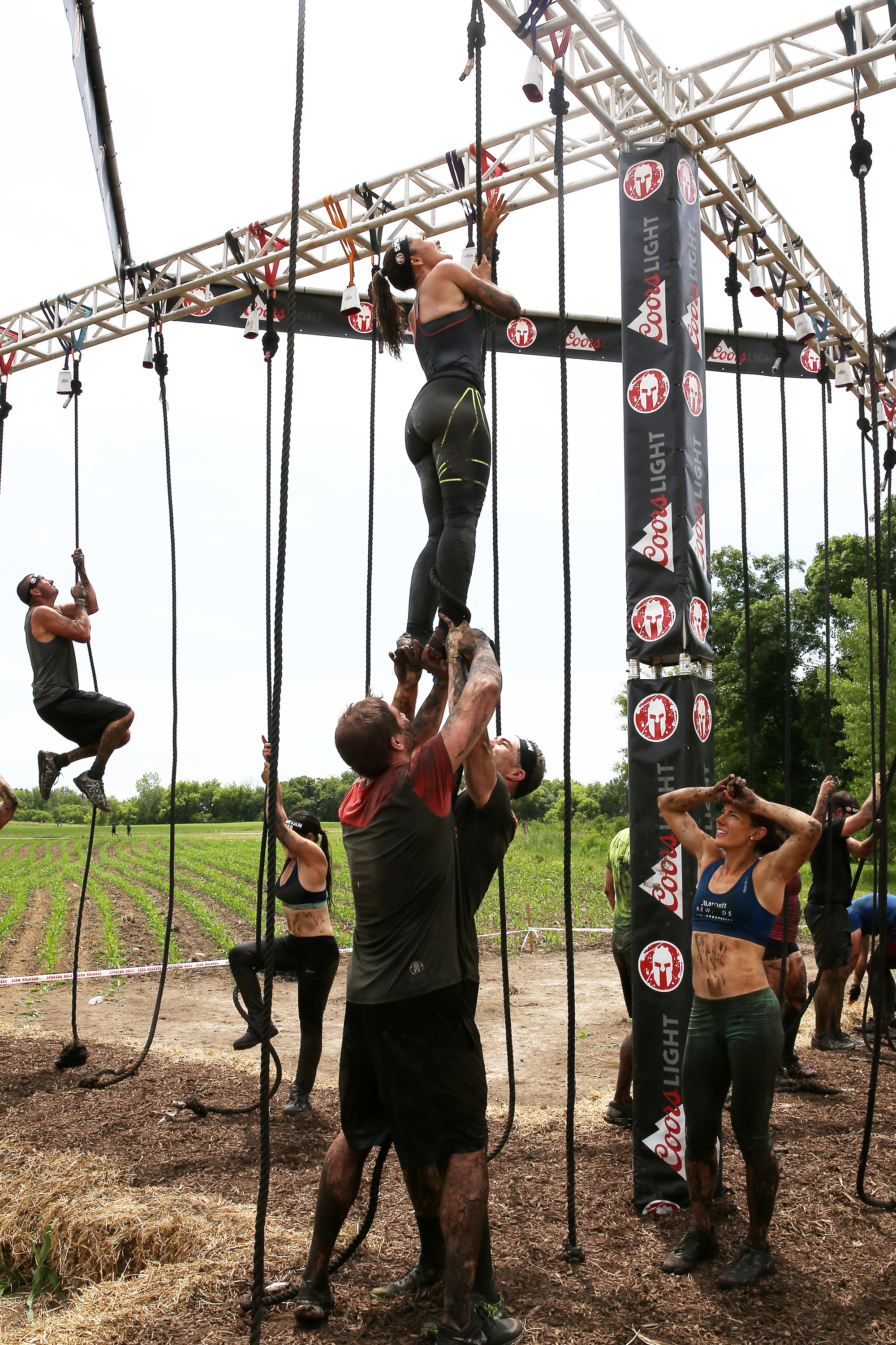 Taylor Kitsch on the Super Spartan obstacle he was most dreading: