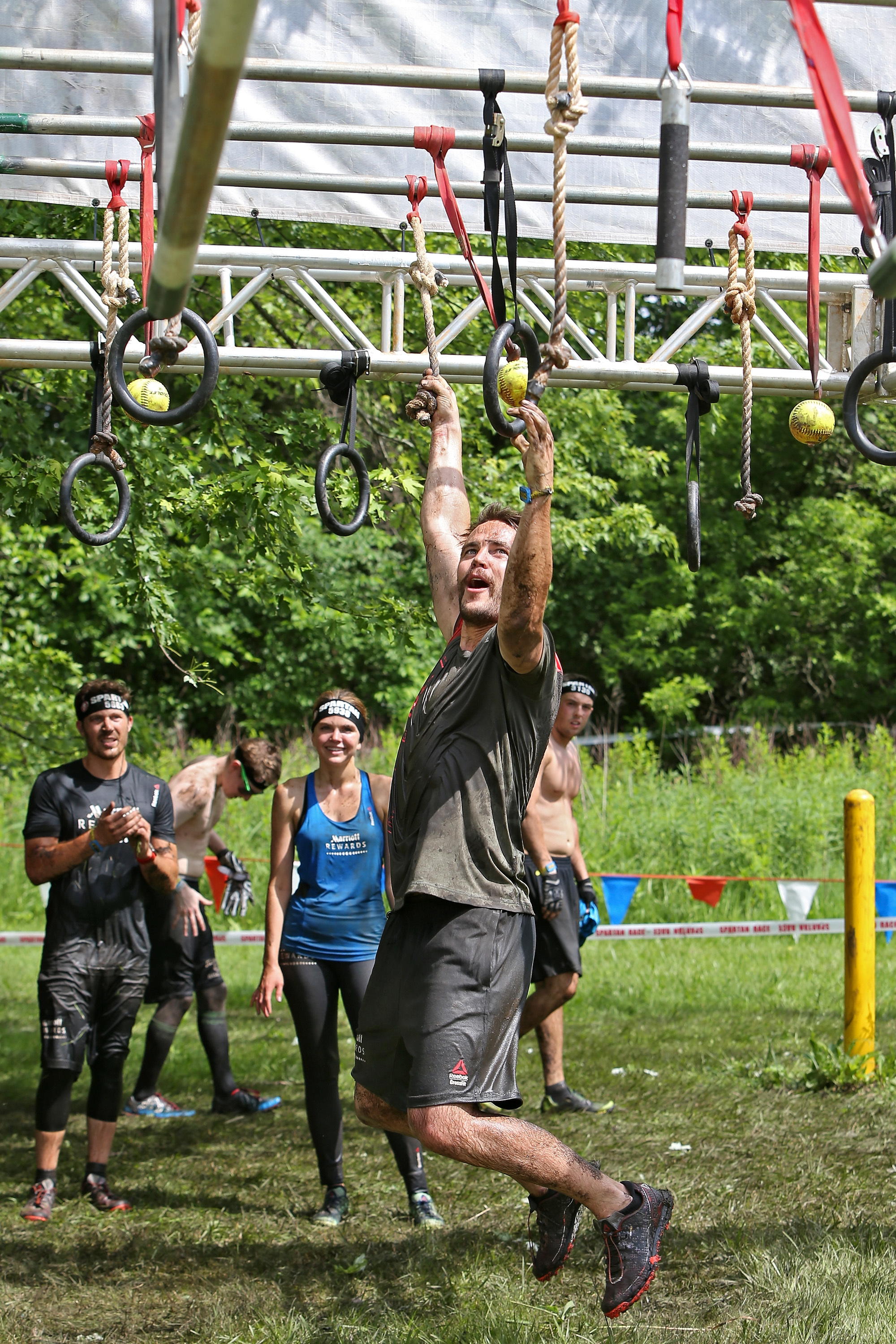 Taylor Kitsch on Marriott Rewards' special training for the Spartan Race: