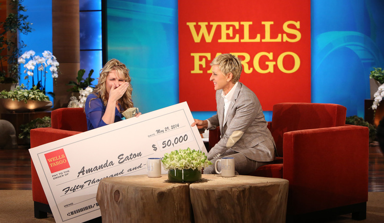 Amanda Eaton: $50,000