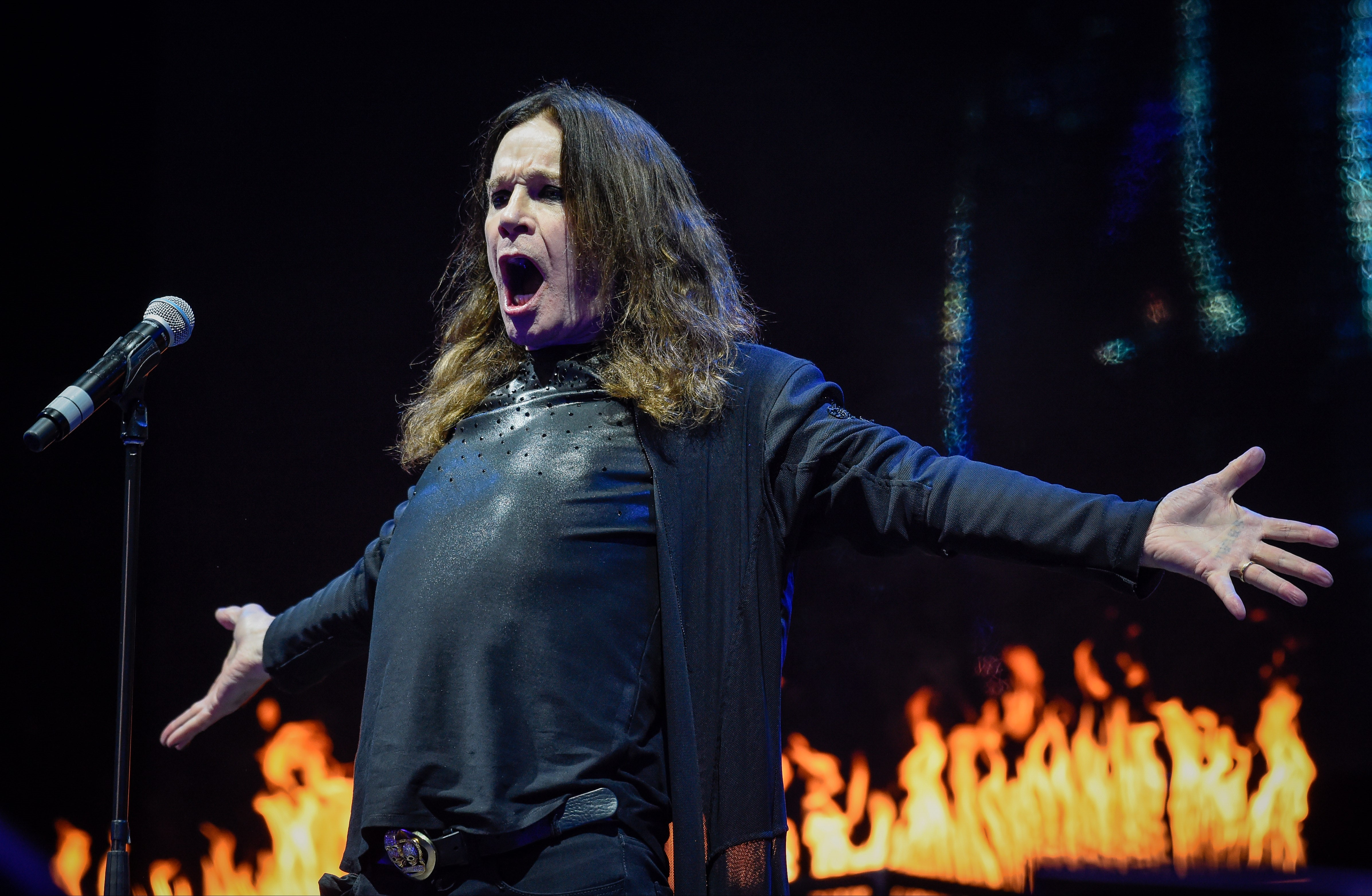 Ozzy Osbourne thinks outer space sounds boring