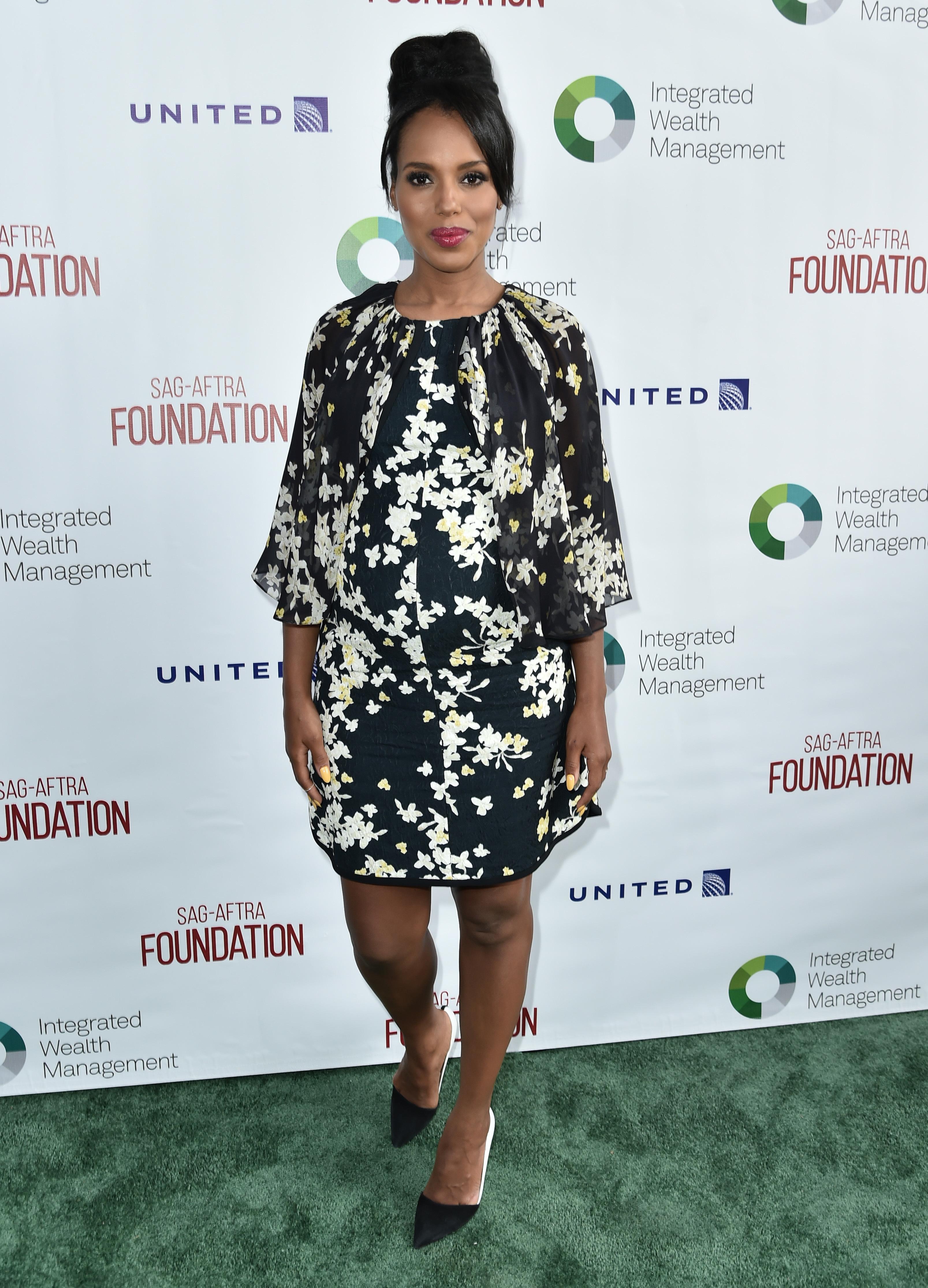 Shonda Rhimes helped Kerry Washington prepare for baby No. 2