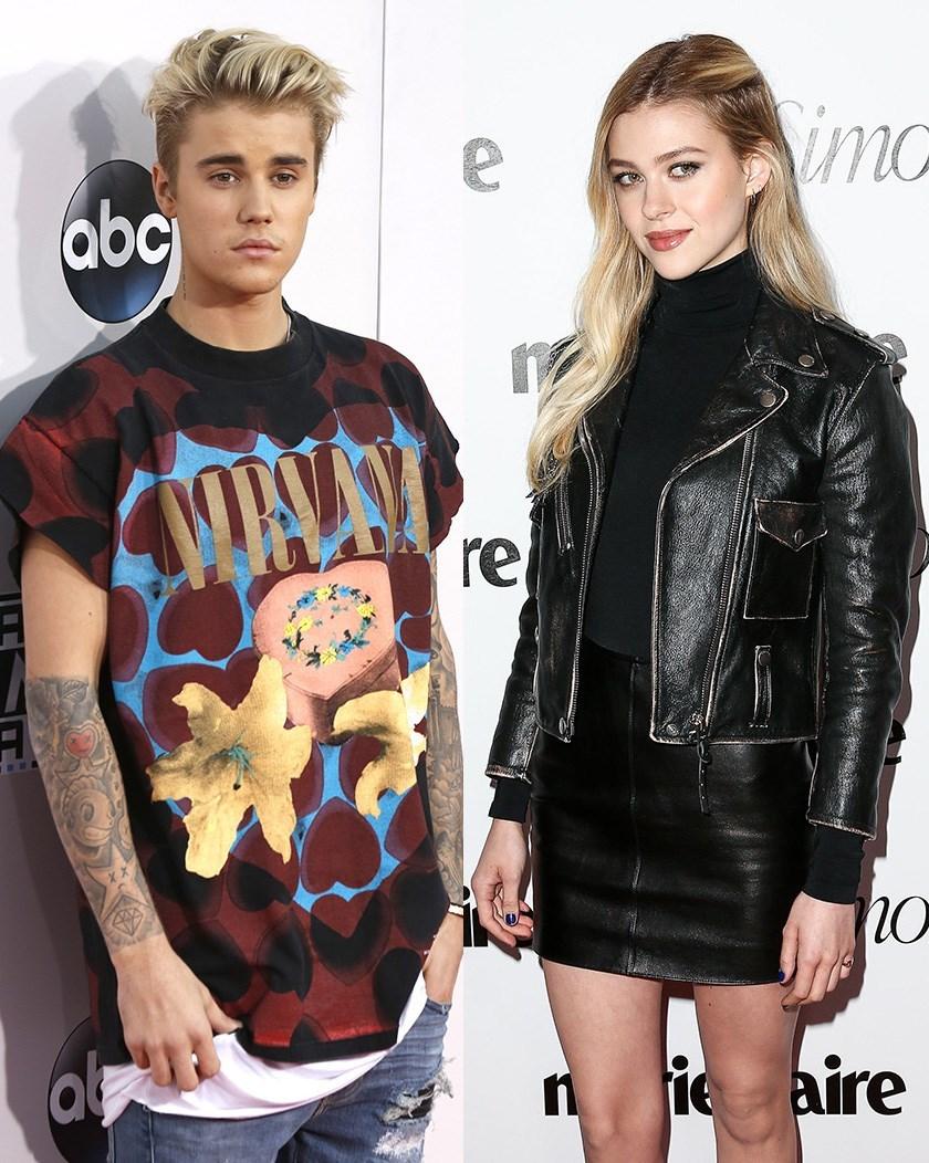 Justin Bieber and Nicola Peltz