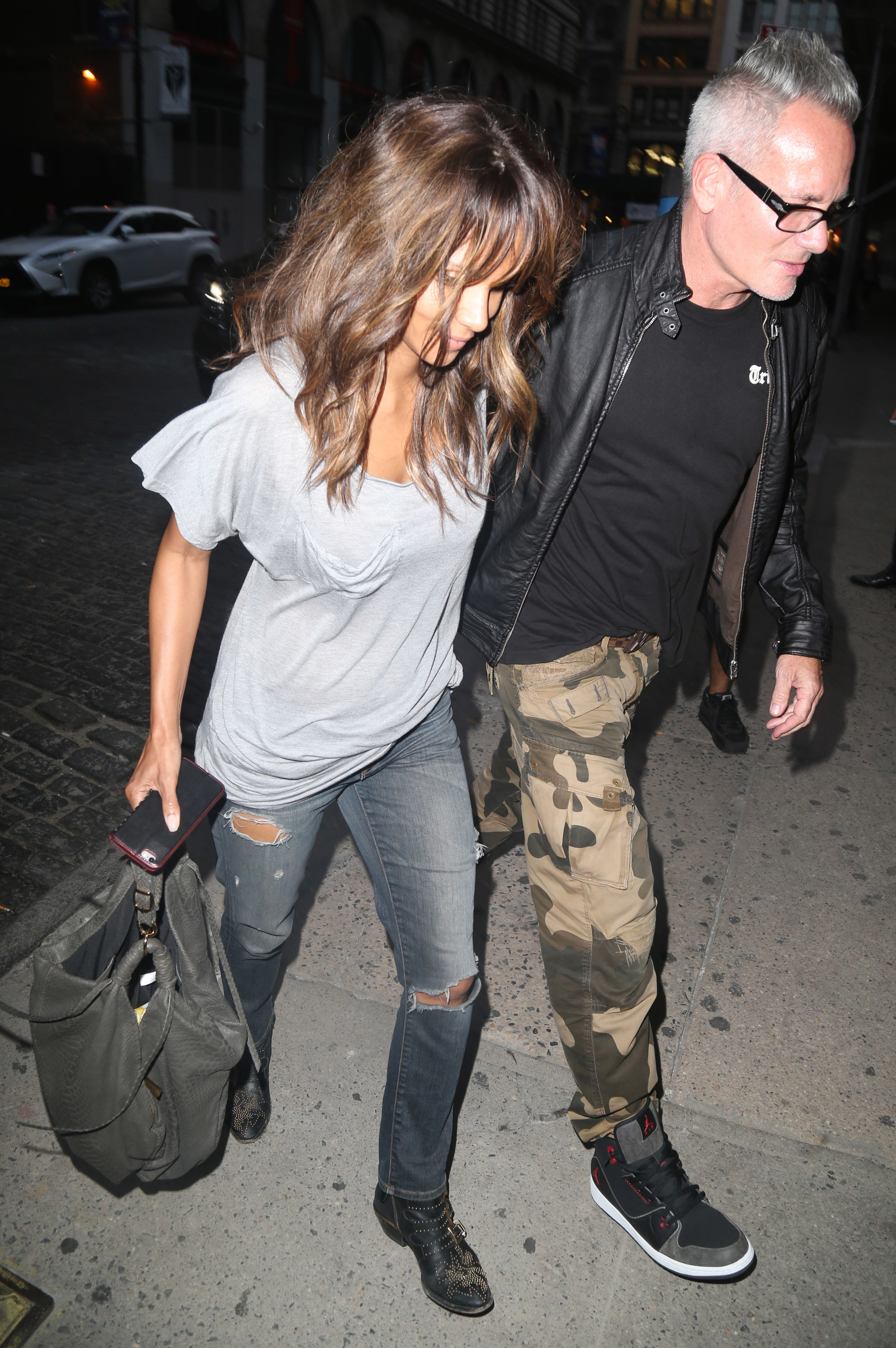 Halle Berry steps out with a mystery man in NYC