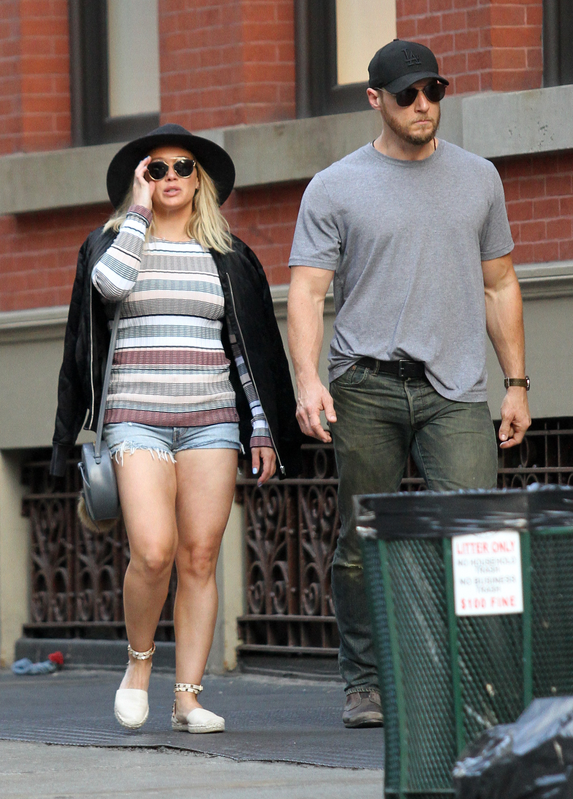 Hilary Duff is dating her personal trainer