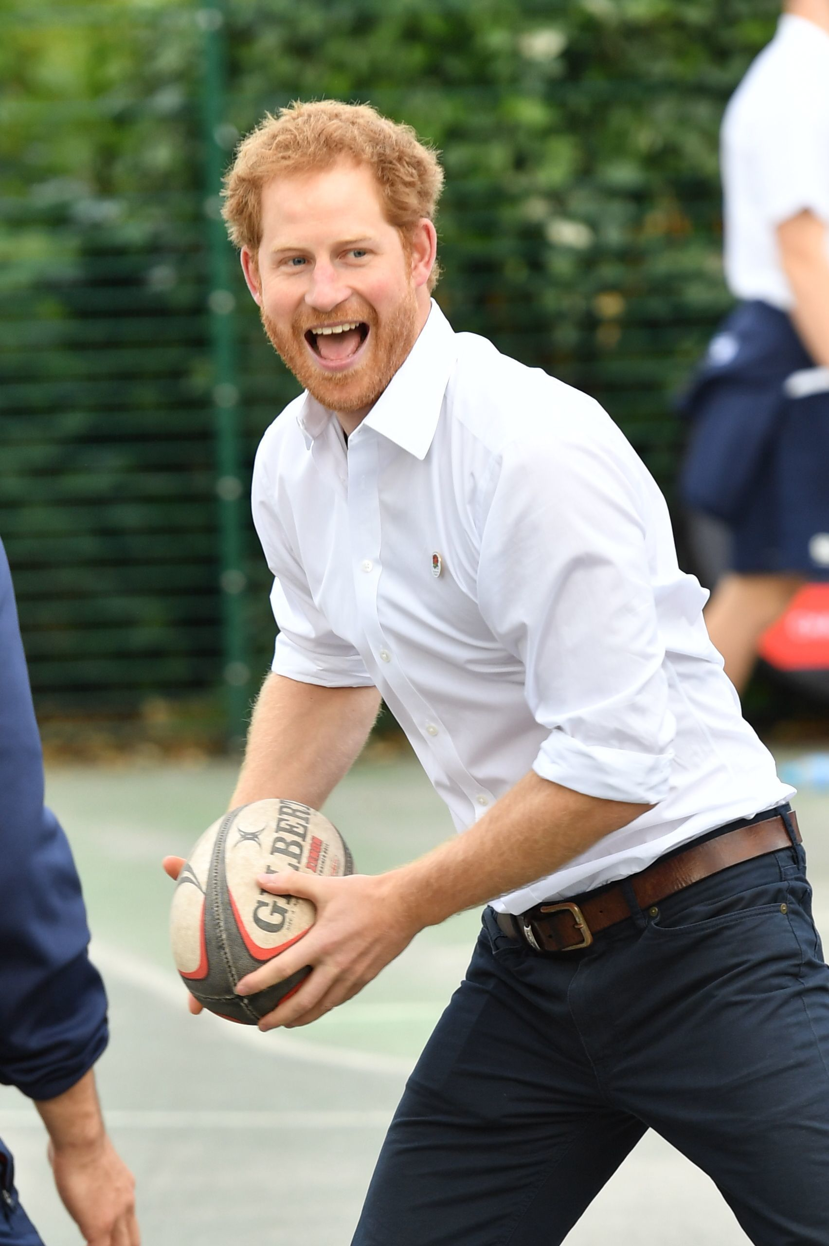 A 6 year old proposed to Prince Harry