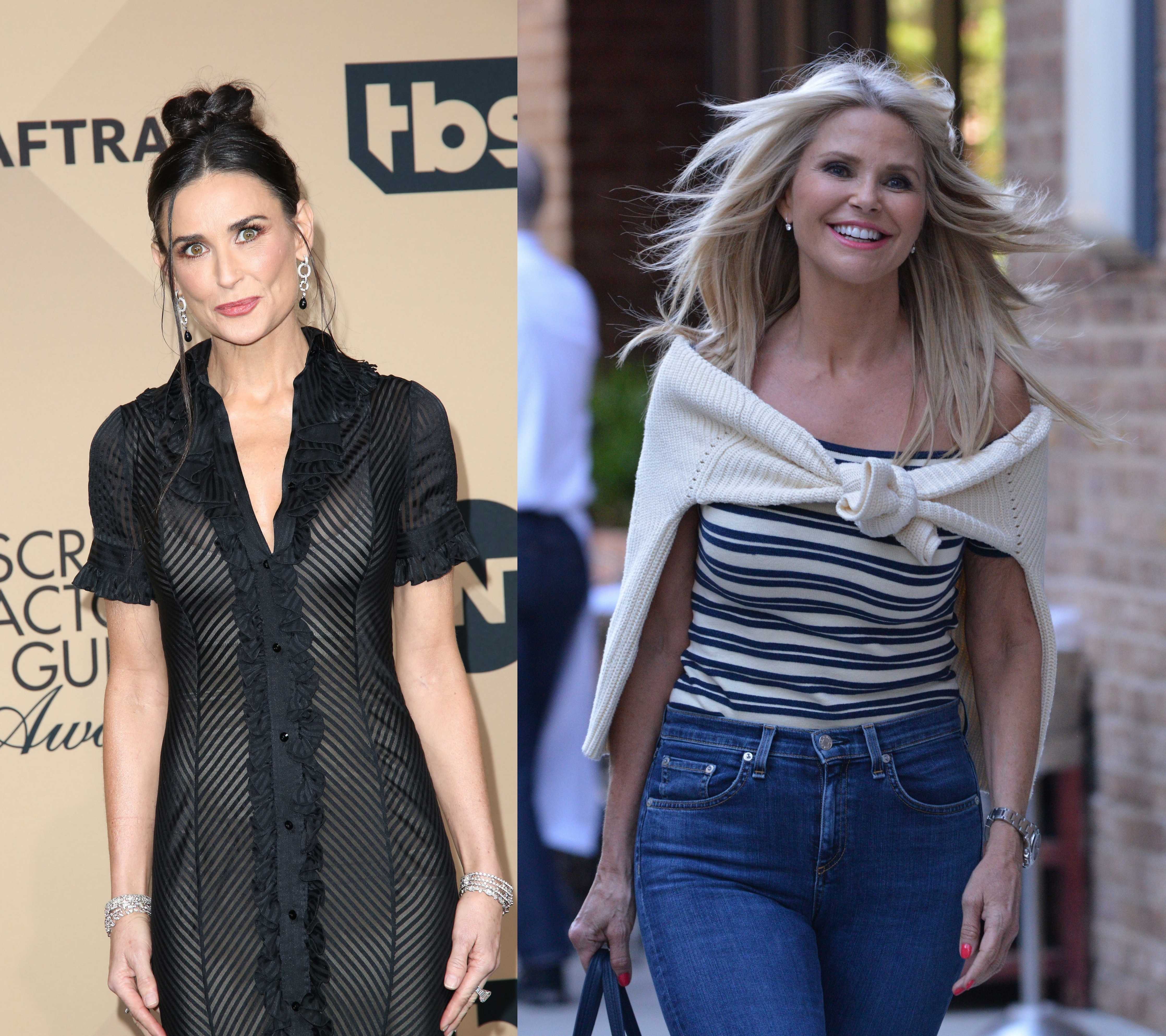 Demi Moore, Christie Brinkley look to pare down real estate holdings