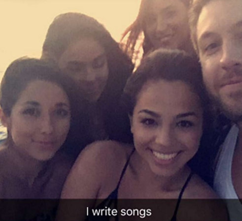 Calvin Harris goes yachting with four hot women post split